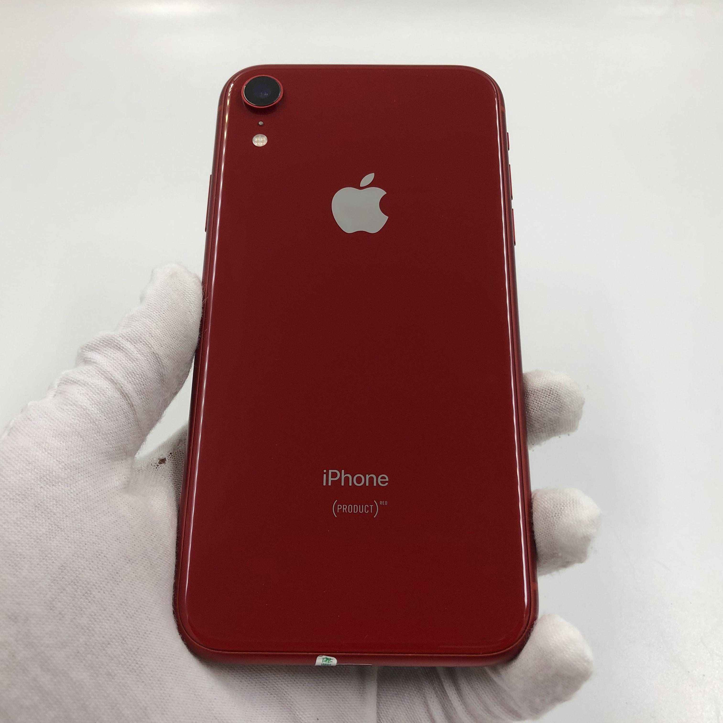 苹果【iPhone XR】4G全网通 红色 128G 国行 9成新 真机实拍