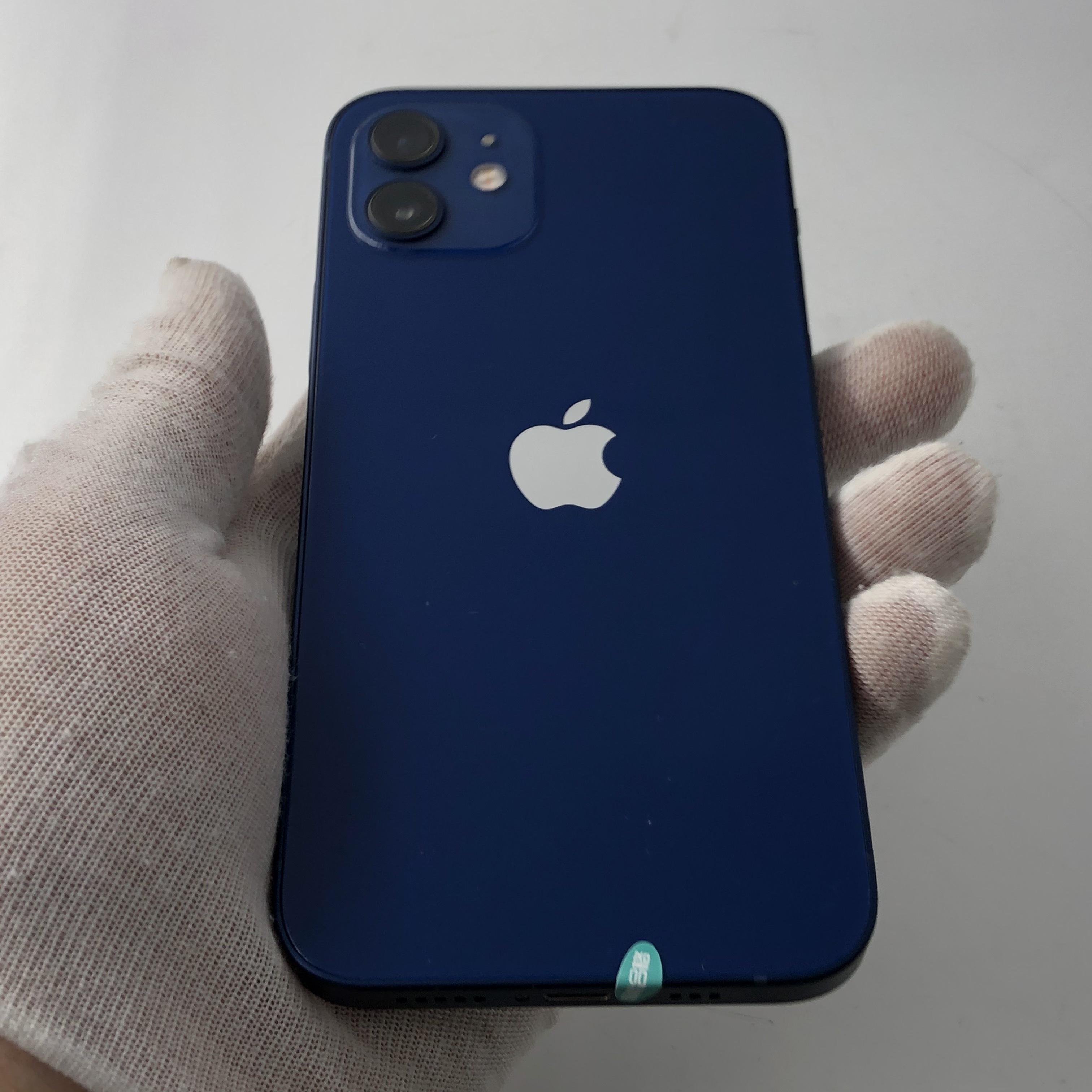 苹果【iPhone 12】5G全网通 蓝色 128G 国行 99新