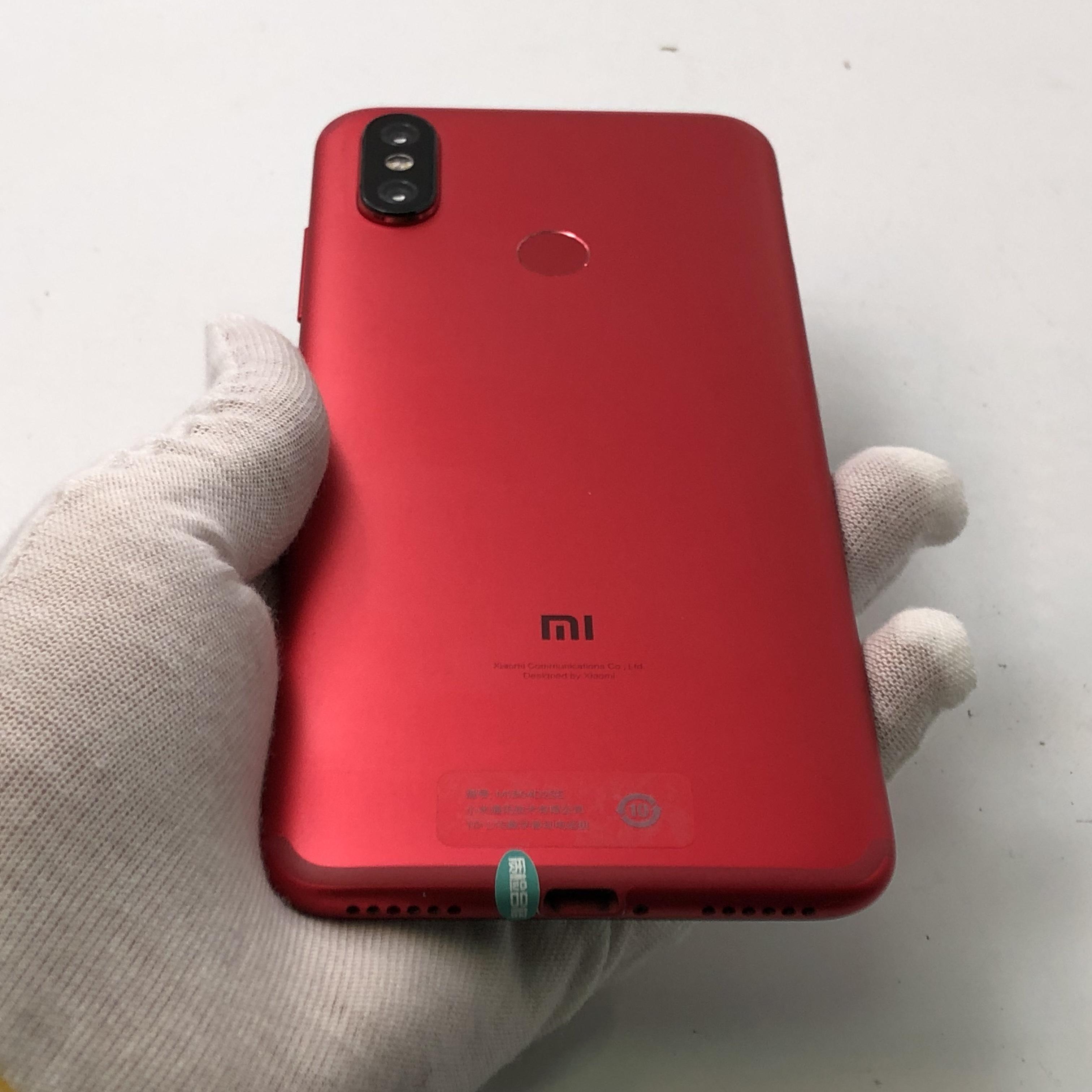 小米【小米 6X】4G全网通 红色 4G/64G 国行 9成新