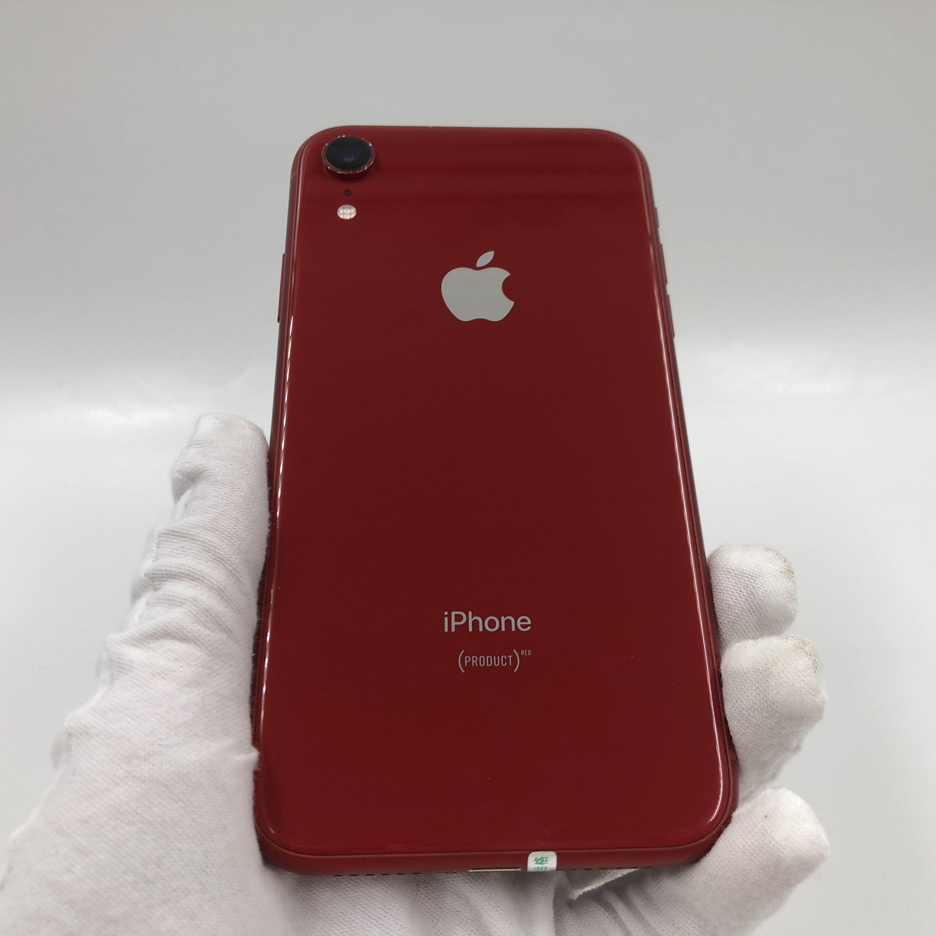 苹果【iPhone XR】4G全网通 红色 64G 国行 95新 真机实拍