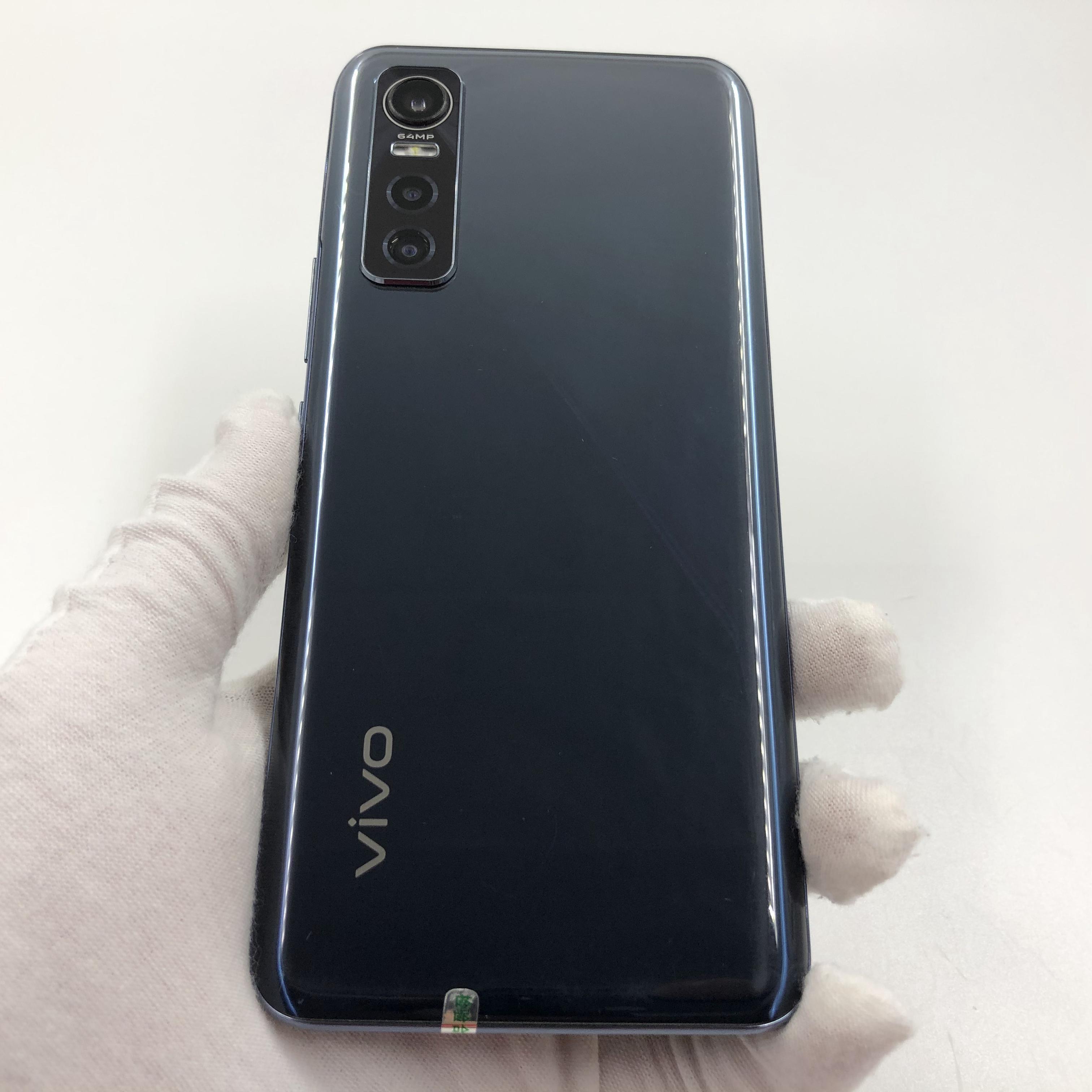vivo【S7e 5G】5G全网通 黑镜 8G/128G 国行 8成新 真机实拍