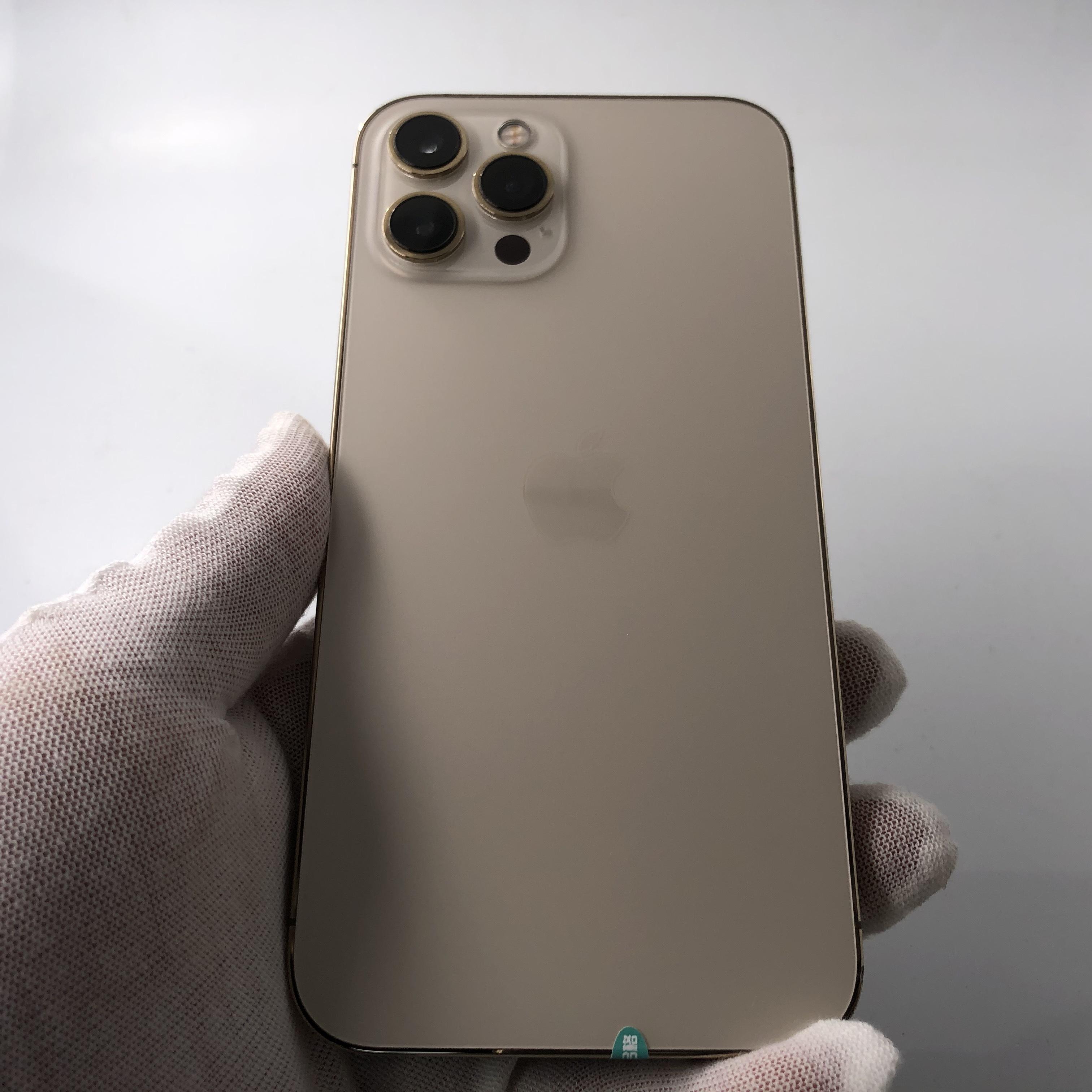 苹果【iPhone 12 Pro Max】5G全网通 金色 128G 国行 9成新