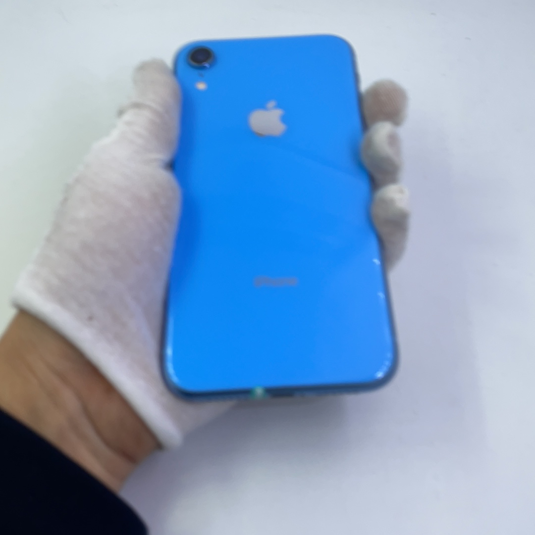 苹果【iPhone XR】4G全网通 蓝色 64G 国行 95新