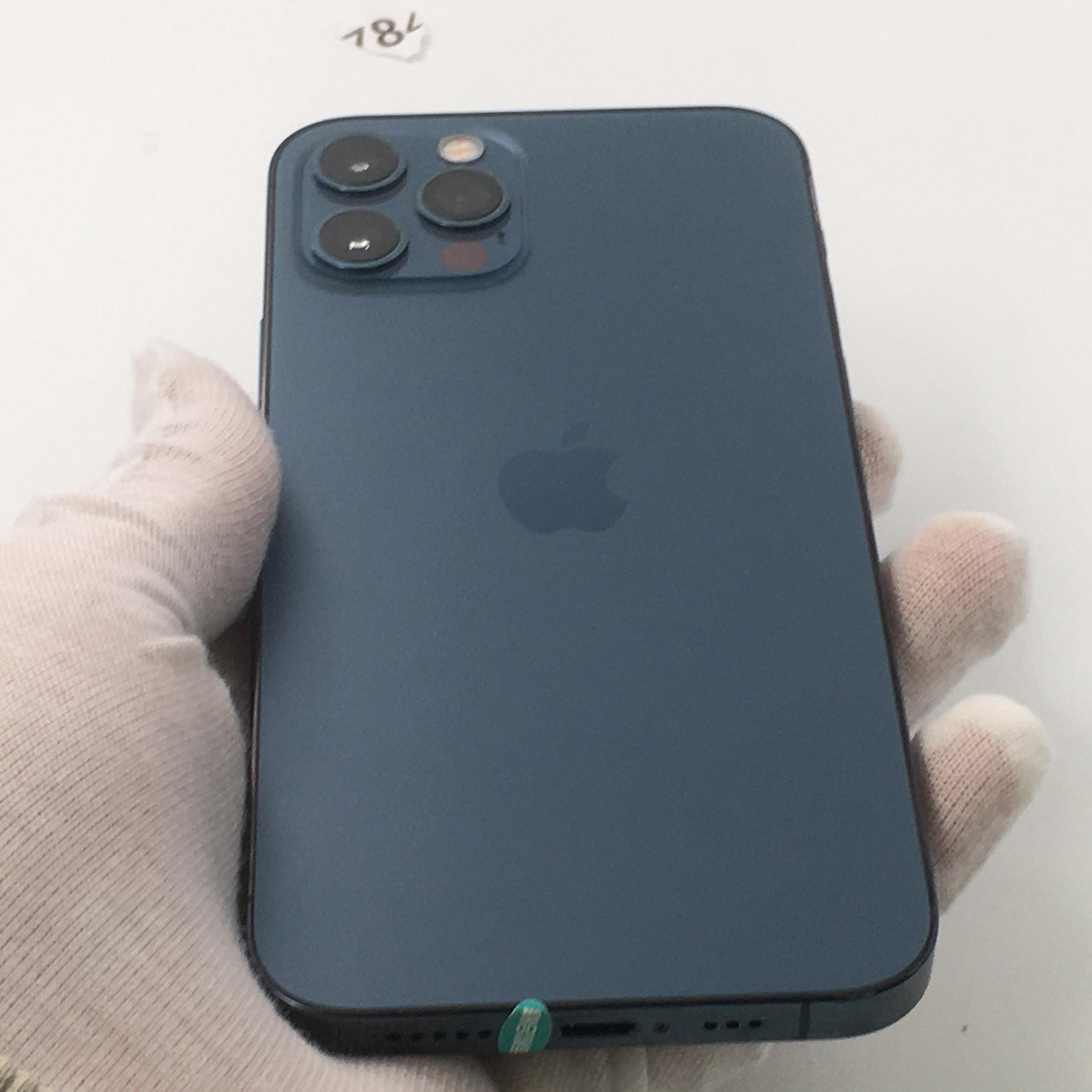 苹果【iPhone 12 Pro】5G全网通 海蓝色 128G 国行 95新