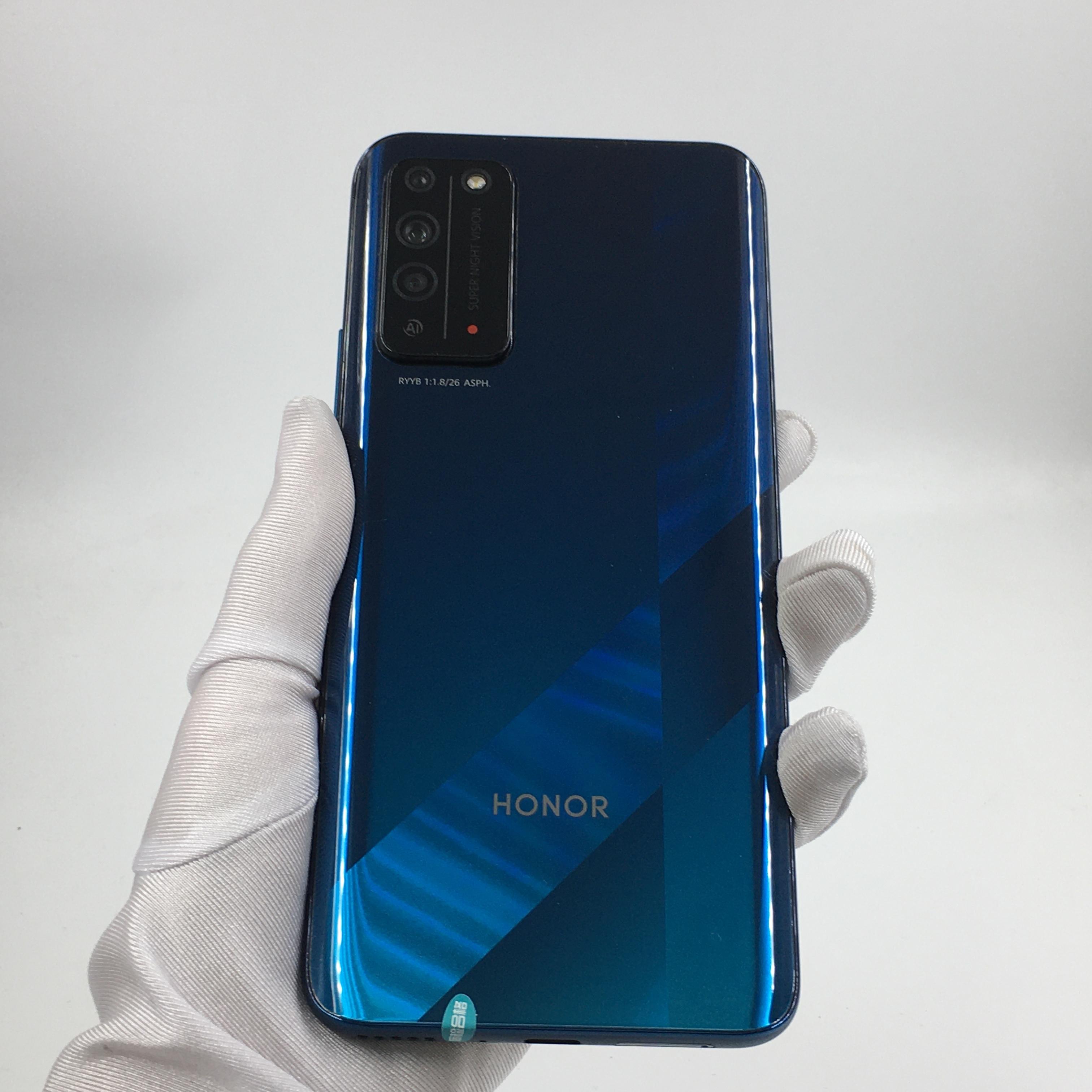 荣耀【荣耀 X10 5G】5G全网通 竞速蓝 8G/128G 国行 95新 8G/128G真机实拍