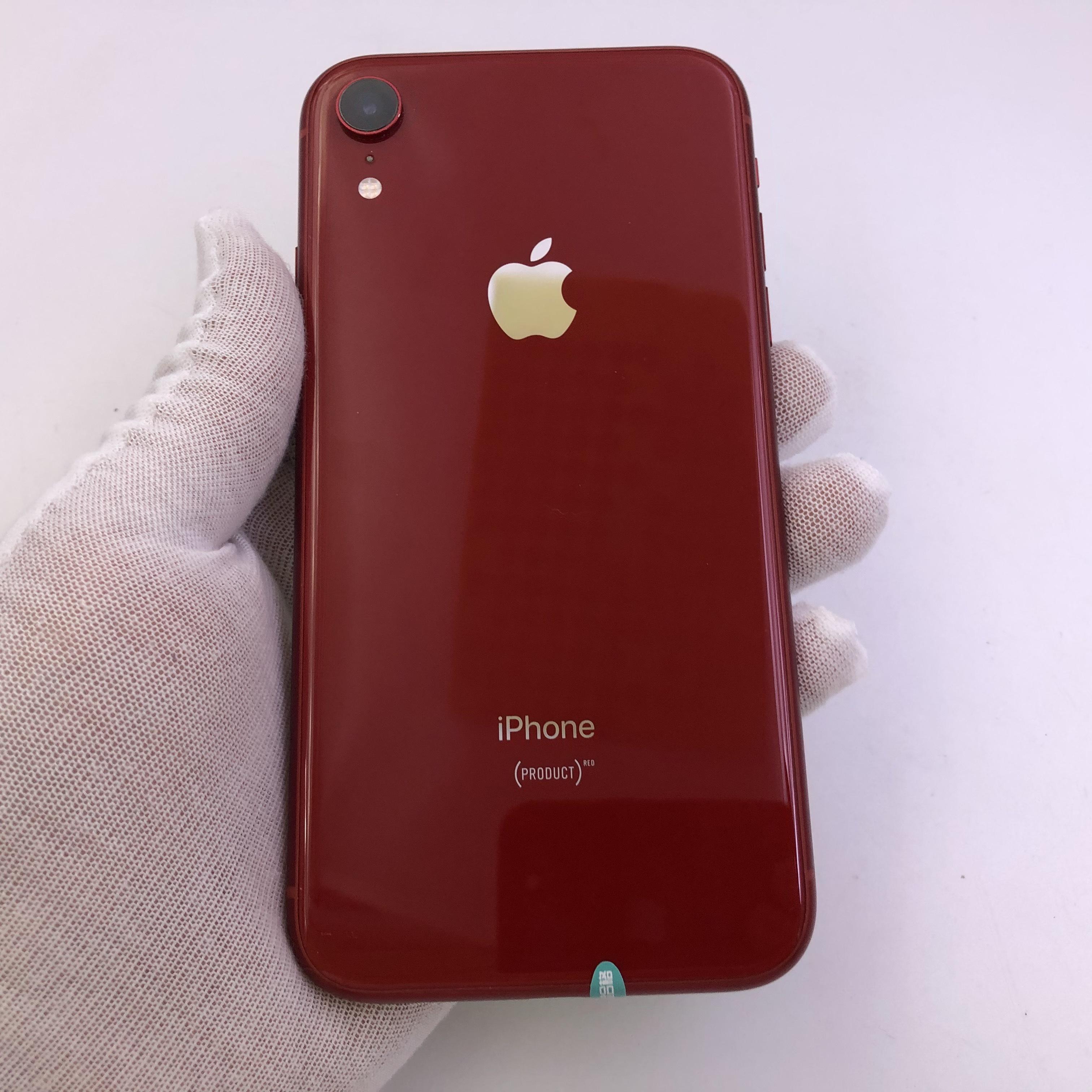 苹果【iPhone XR】4G全网通 红色 128G 国行 9成新