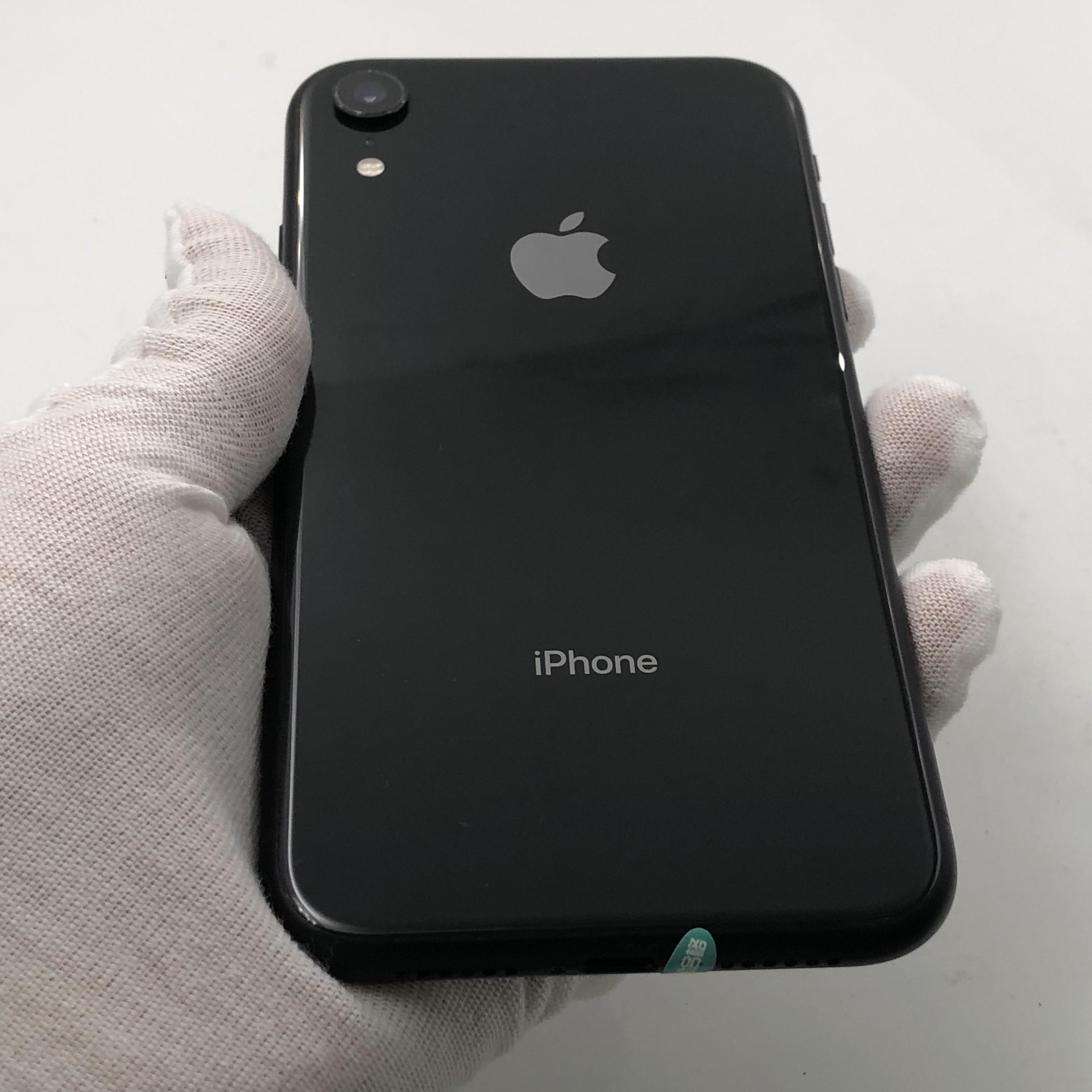 苹果【iPhone XR】4G全网通 黑色 64G 国行 8成新