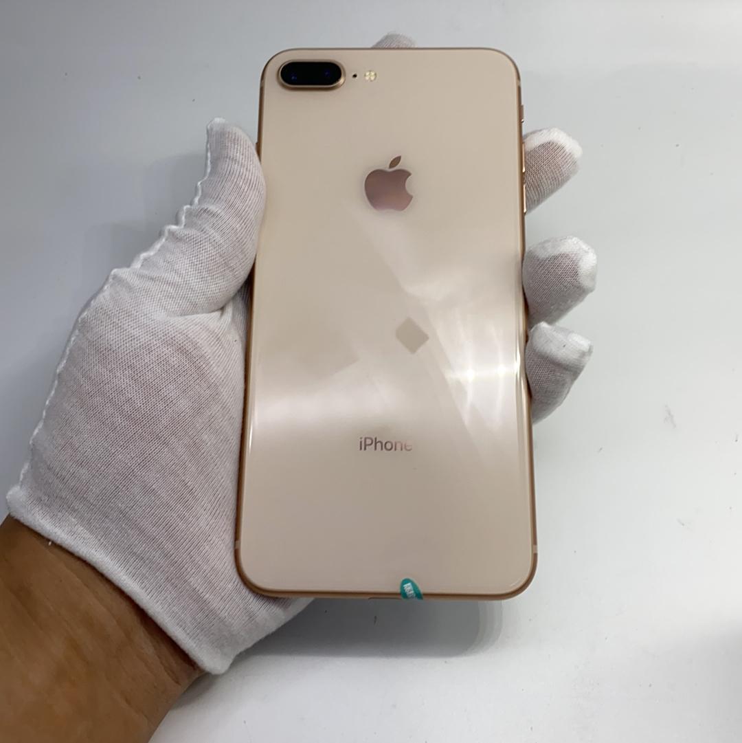 苹果【iPhone 8 Plus】4G全网通 金色 64G 国行 95新