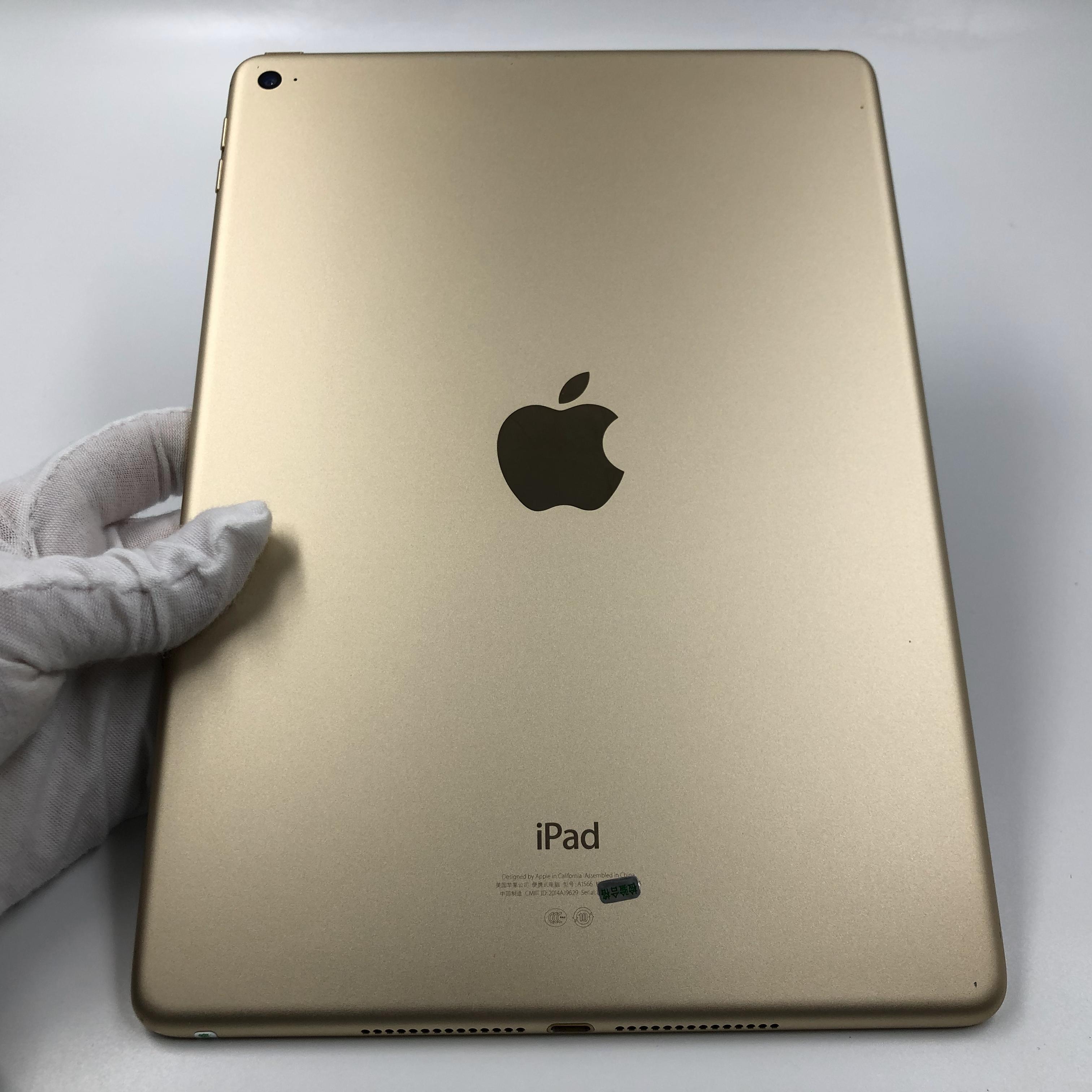 苹果【iPad Air 2】WIFI版 金色 16G 国行 7成新 真机实拍