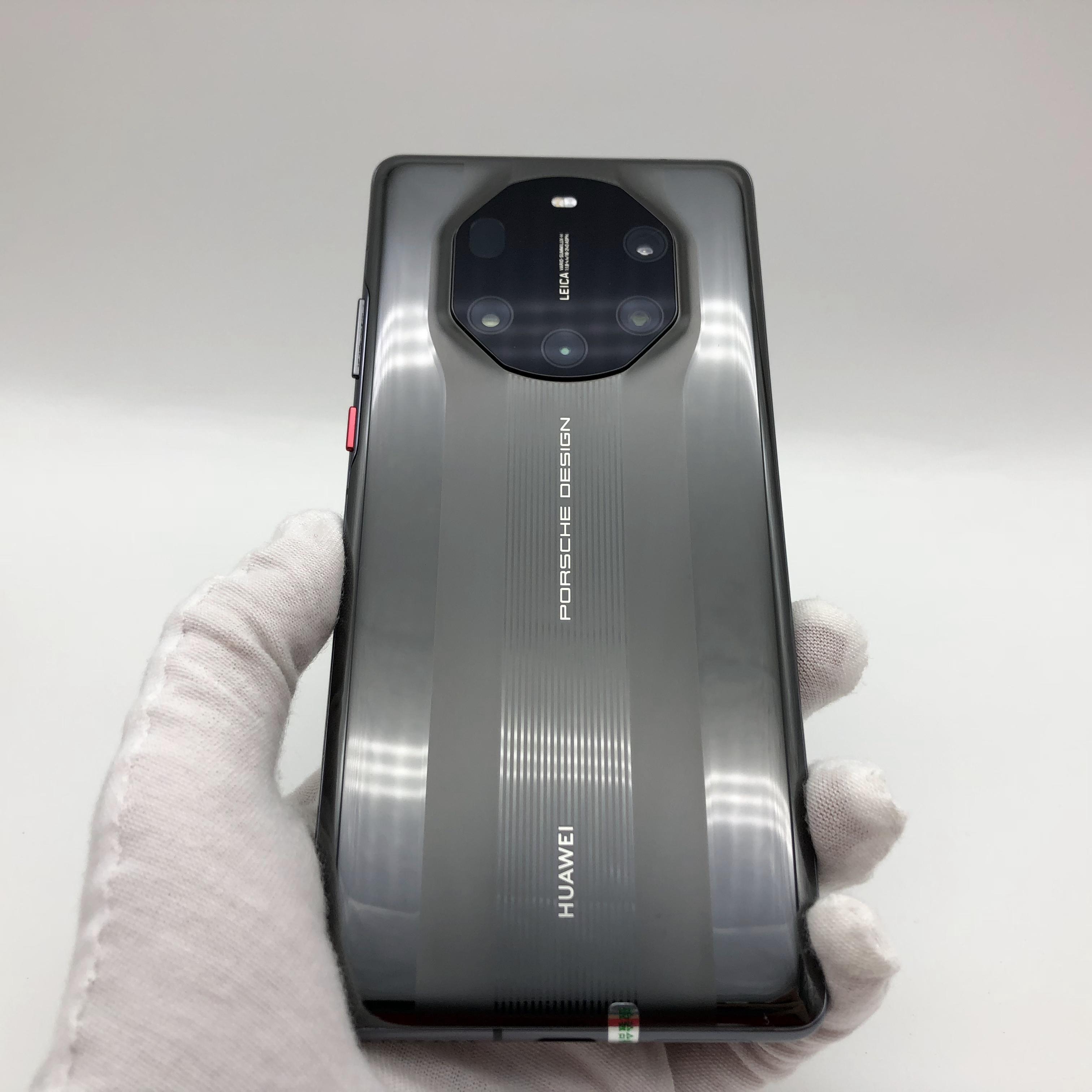 华为【Mate 40 RS 保时捷 5G】5G全网通 陶瓷黑 12G/256G 国行 95新 真机实拍