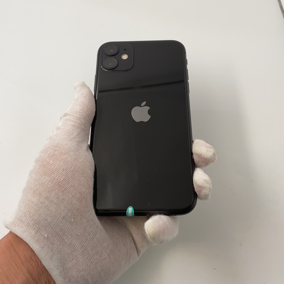 苹果【iPhone 11】全网通 黑色 64G 国行 95新