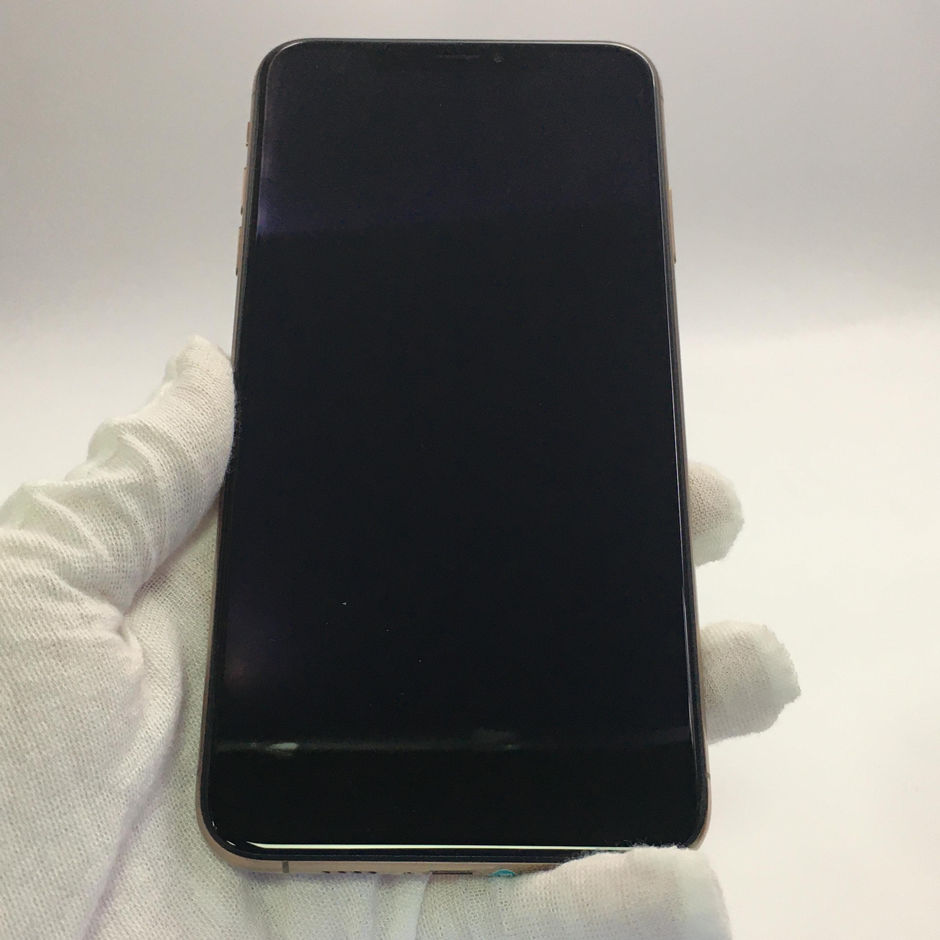 苹果【iPhone Xs Max】4G全网通 金色 64G 国行 95新 64G真机实拍