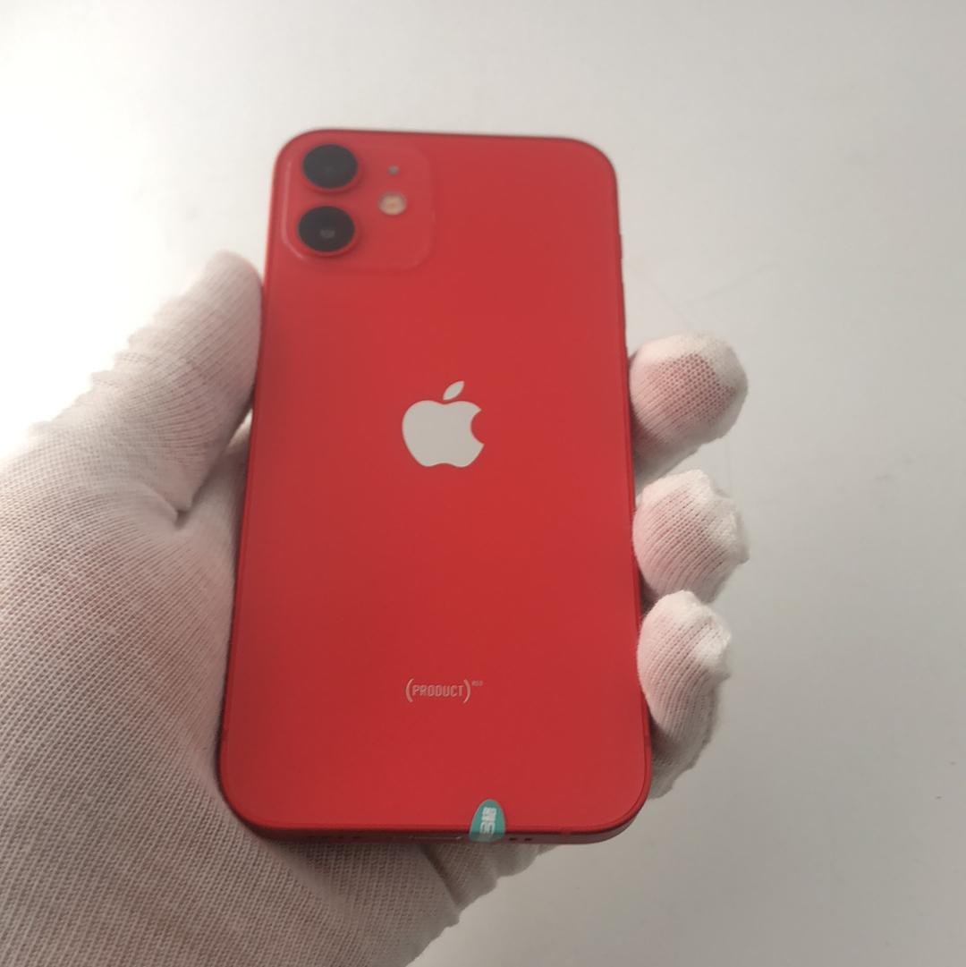 苹果【iPhone 12 mini】5G全网通 红色 128G 国行 99新