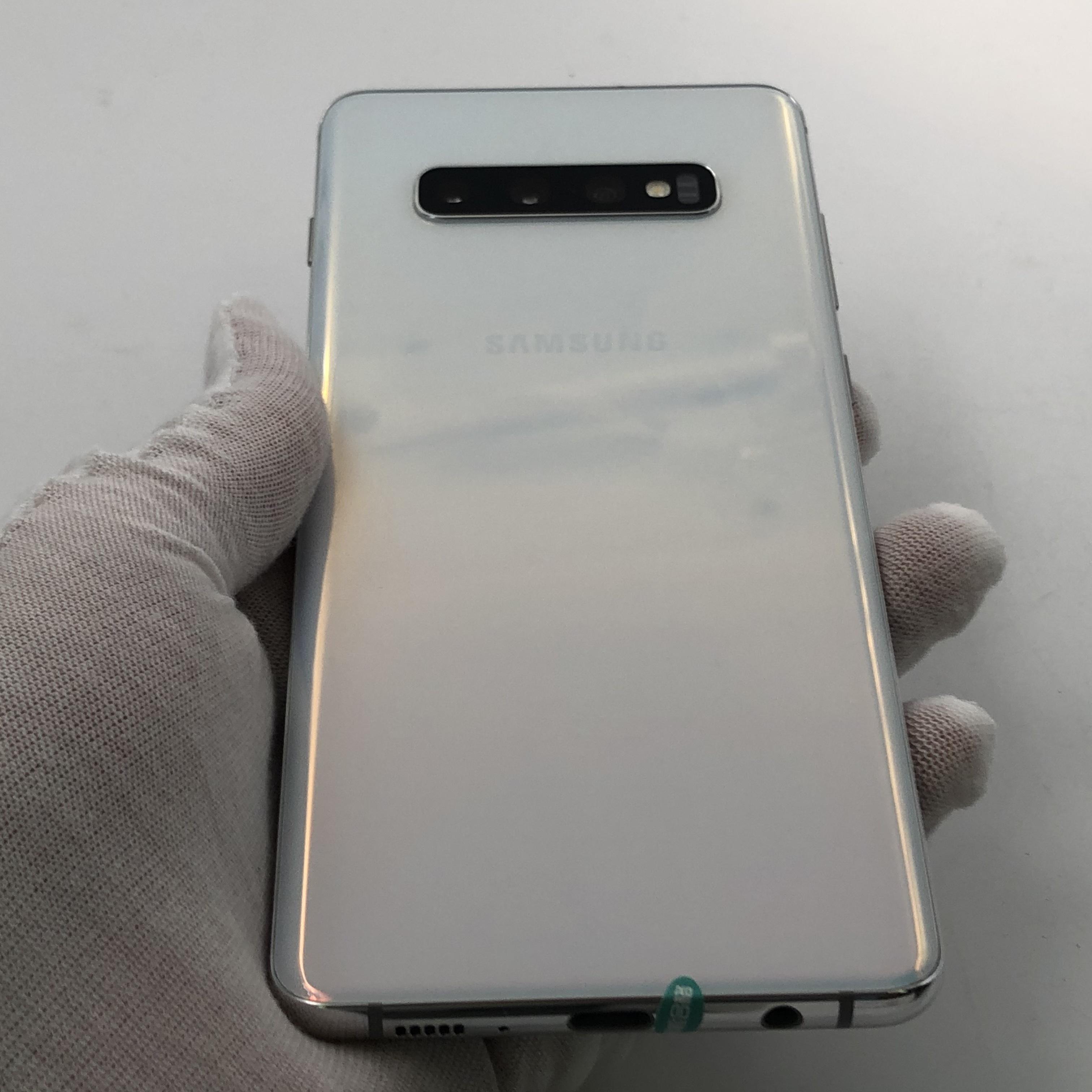 三星【Galaxy S10+】4G全网通 陶瓷白 8G/128G 国行 95新