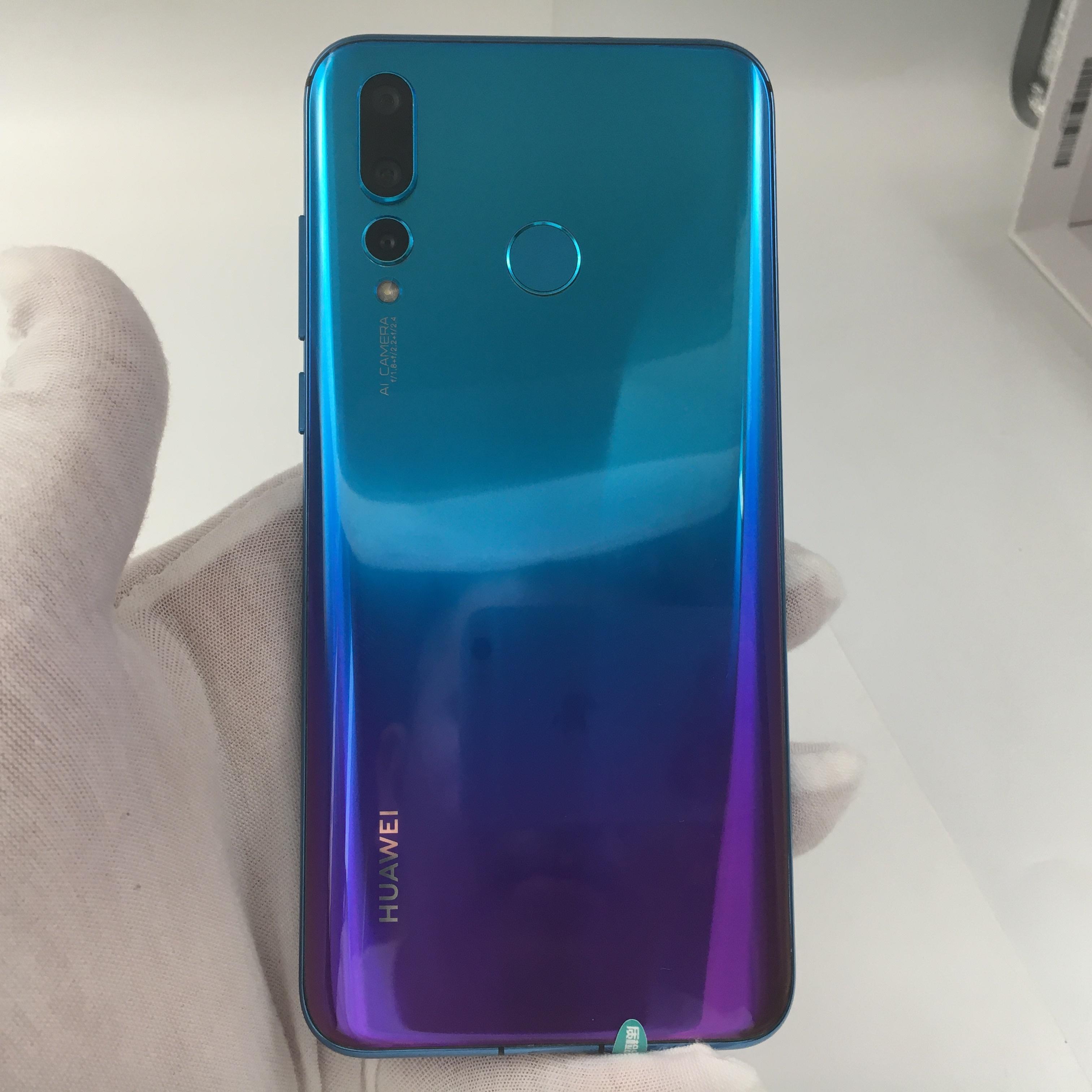 华为【nova4】4G全网通 蓝色 6G/128G 国行 9成新