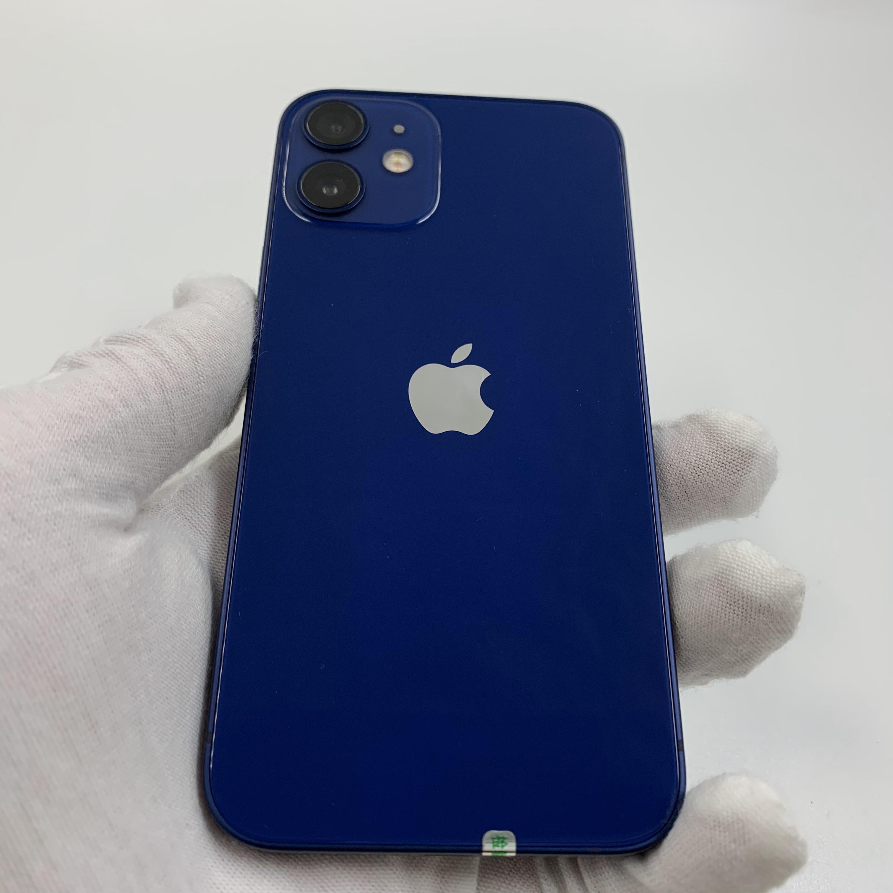 苹果【iPhone 12 mini】5G全网通 蓝色 128G 国行 95新 真机实拍官保2022-01-24