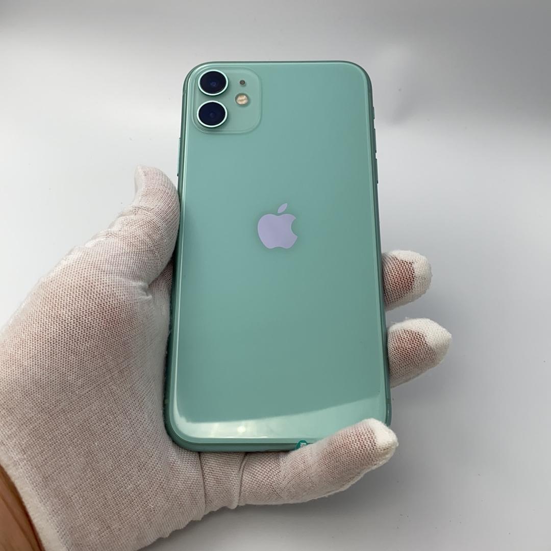 苹果【iPhone 11】4G全网通 绿色 256G 国行 8成新