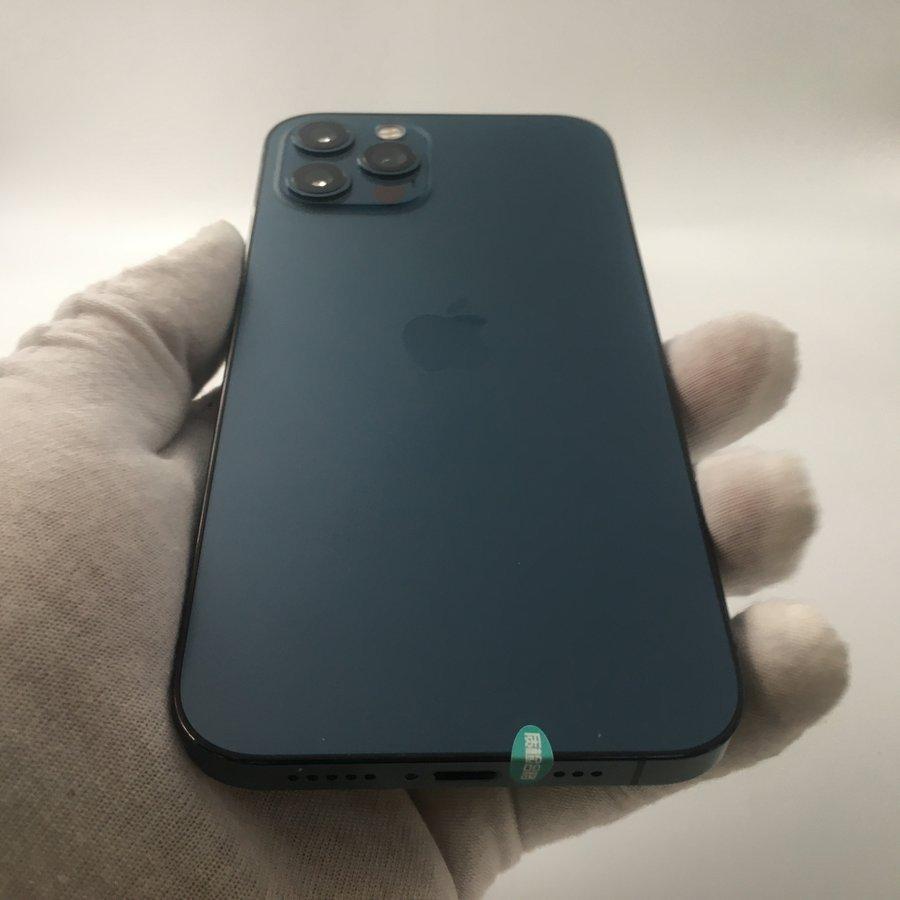 苹果【iPhone 12 Pro Max】5G全网通 海蓝色 512G 国行 95新