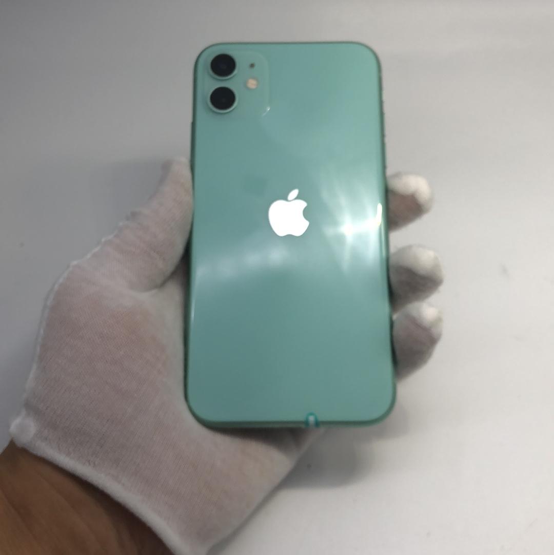 苹果【iPhone 11】4G全网通 绿色 128G 国行 95新