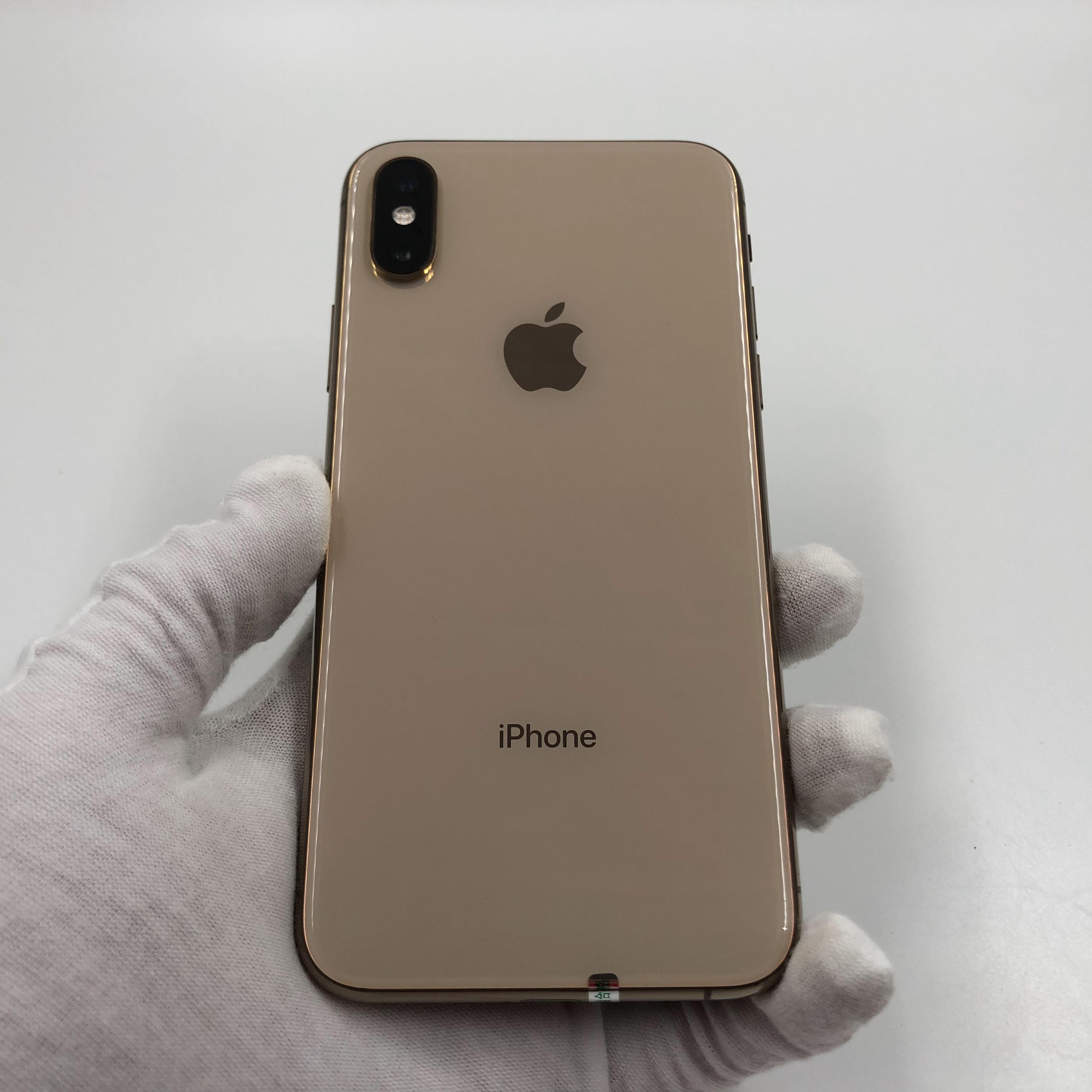 苹果【iPhone Xs】4G全网通 金色 64G 国行 8成新 真机实拍