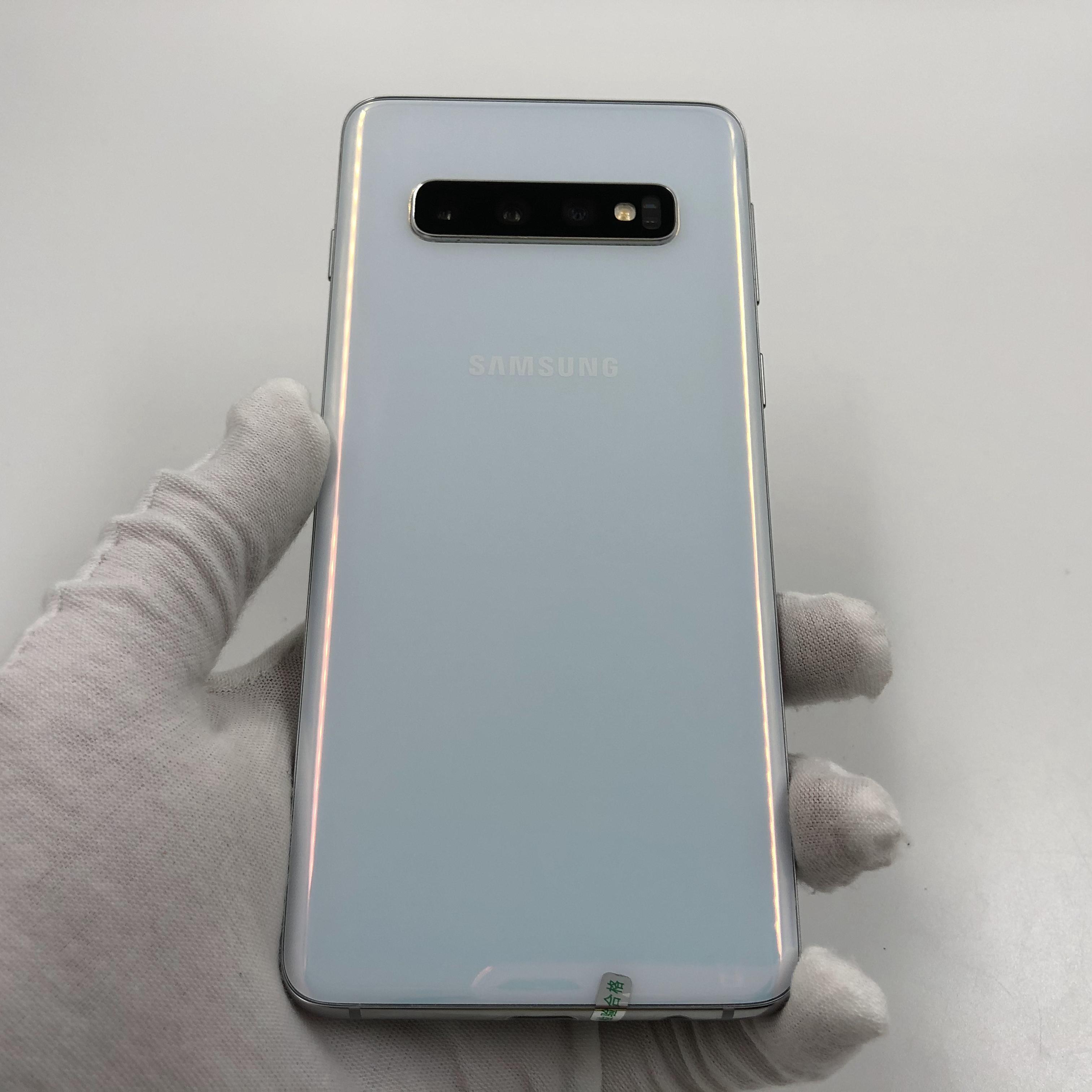 三星【Galaxy S10】4G全网通 白色 8G/512G 国行 8成新 真机实拍
