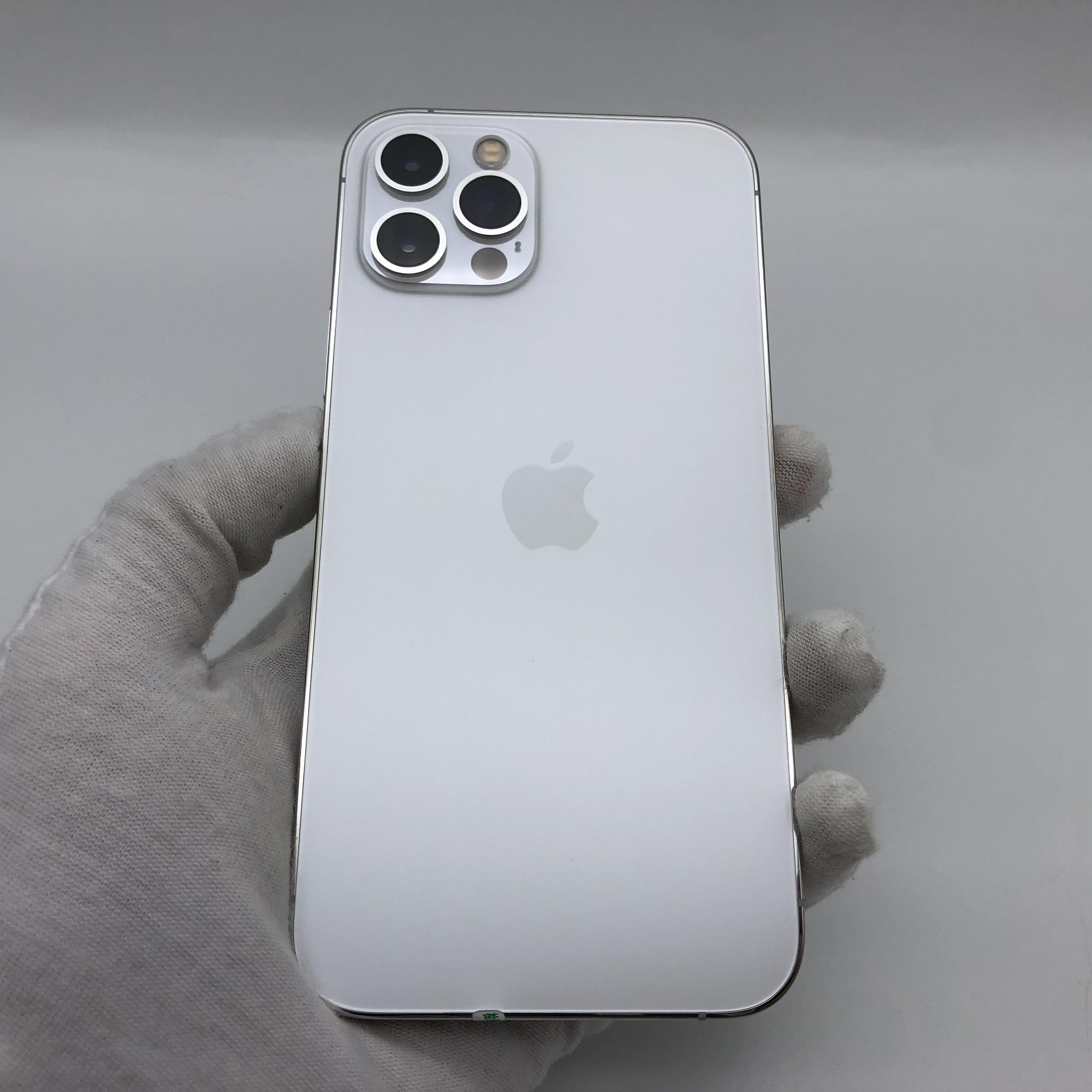 苹果【iPhone 12 Pro】5G全网通 银色 512G 国行 95新 真机实拍保修2022-01-27