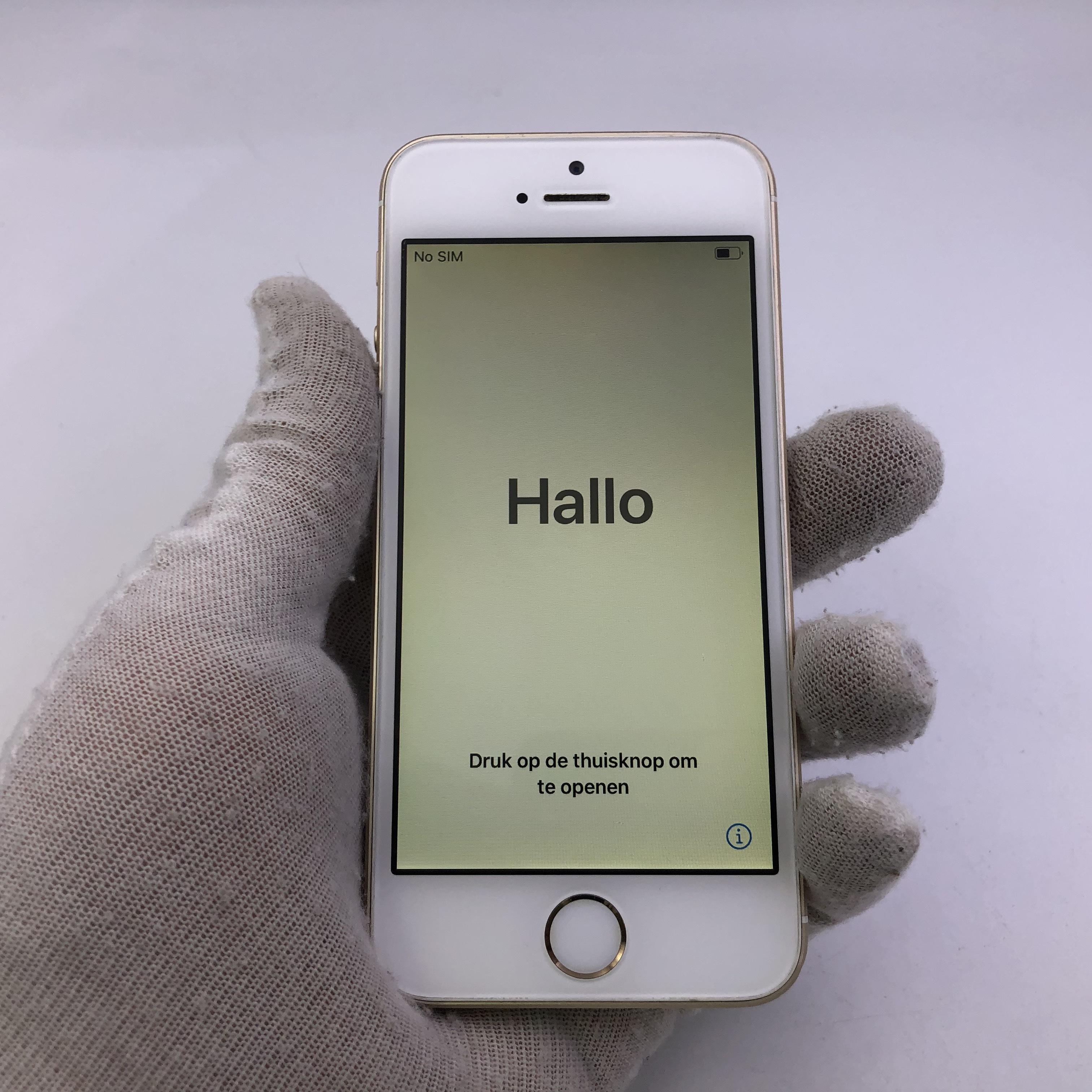 苹果【iPhone SE】全网通 金色 16G 国行 7成新