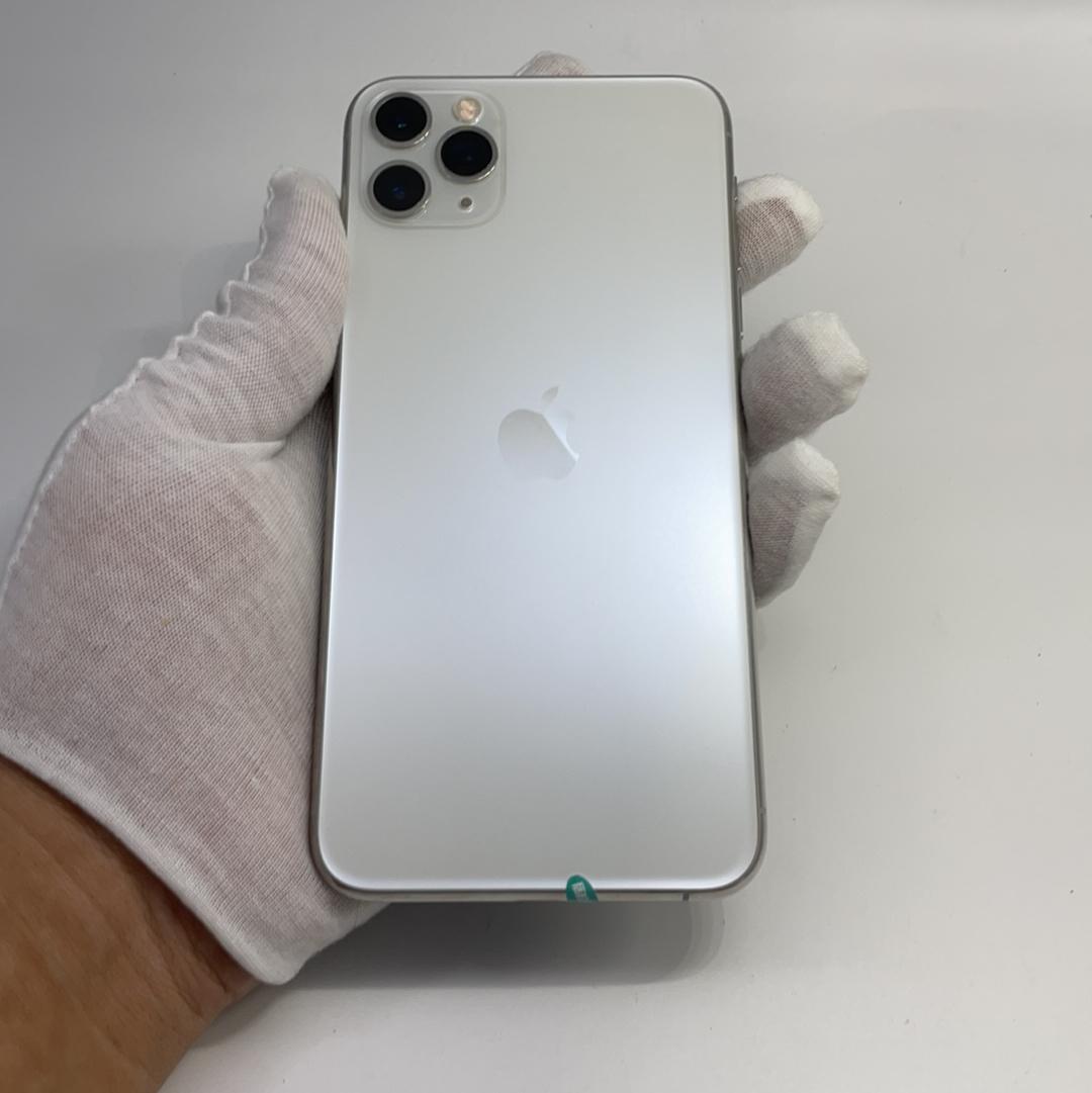 苹果【iPhone 11 Pro Max】4G全网通 银色 512G 国行 9成新