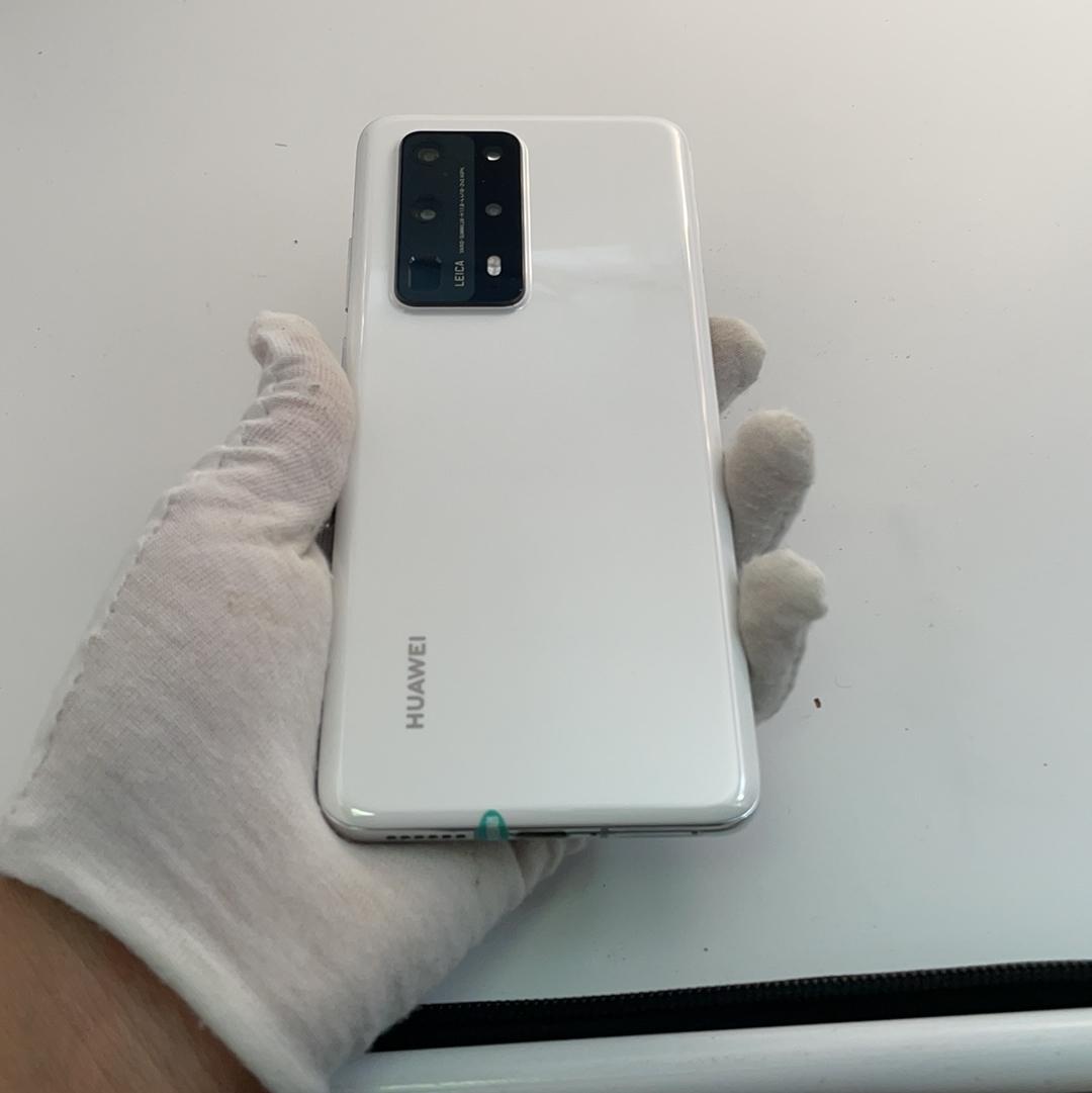 华为【P40 Pro+ 5G】5G全网通 陶瓷白 8G/512G 国行 95新