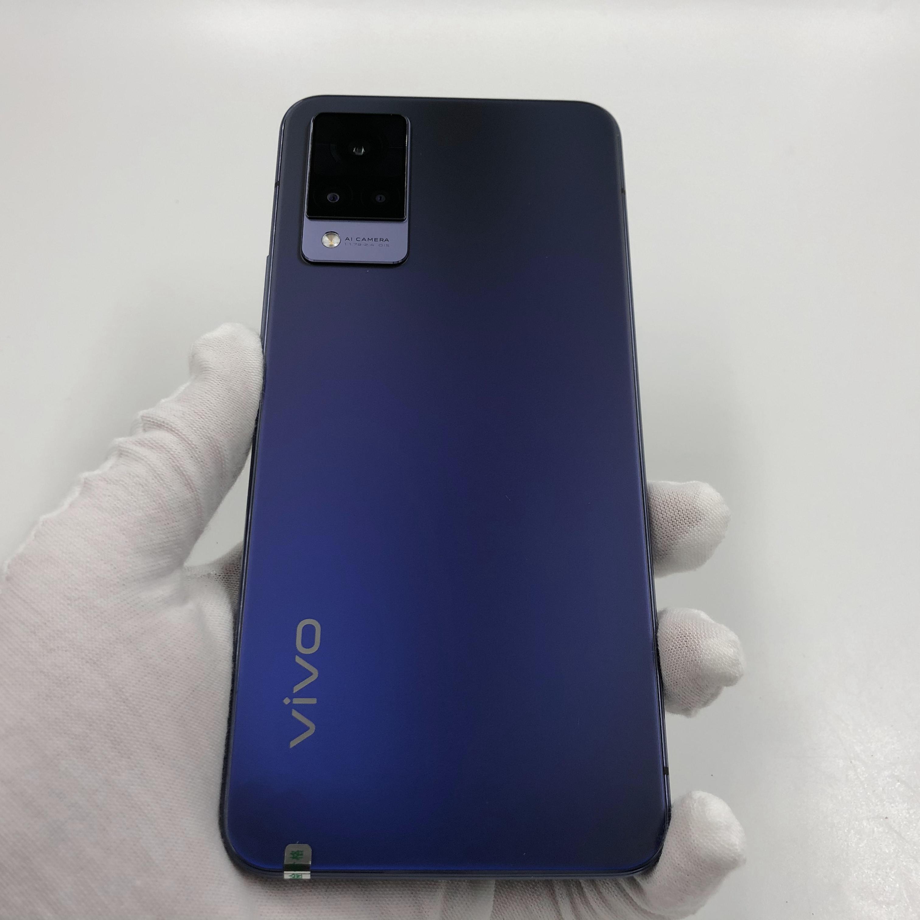 vivo【S9 5G】5G全网通 子夜蓝 12G/256G 国行 9成新 真机实拍
