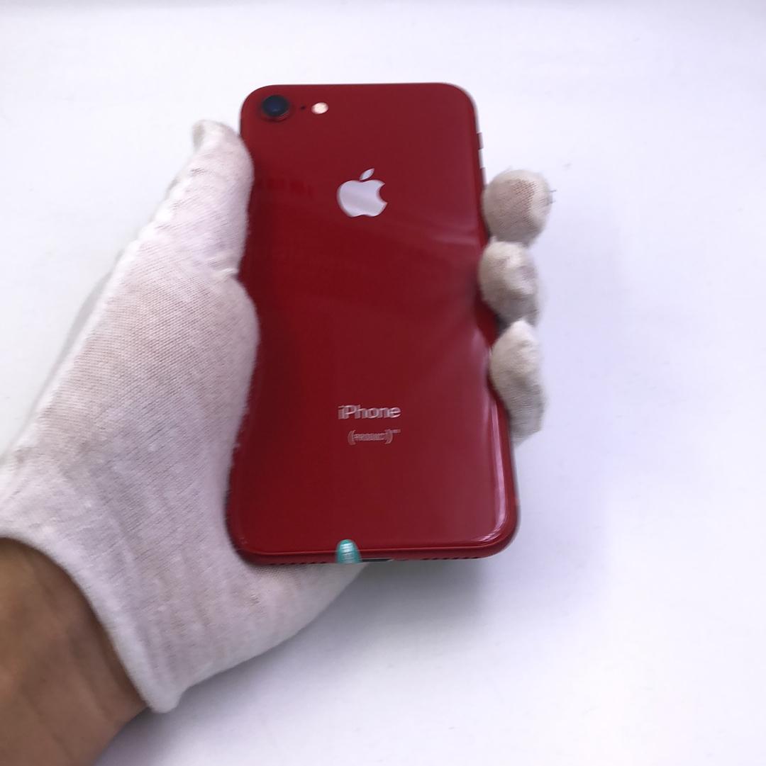 苹果【iPhone 8】4G全网通 红色 64G 国行 95新