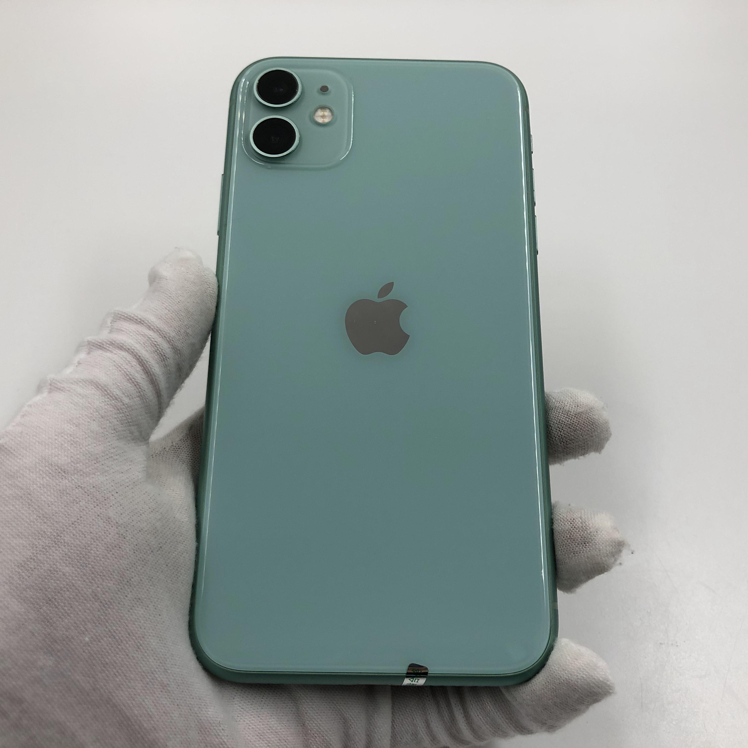 苹果【iPhone 11】4G全网通 绿色 128G 国行 95新 真机实拍