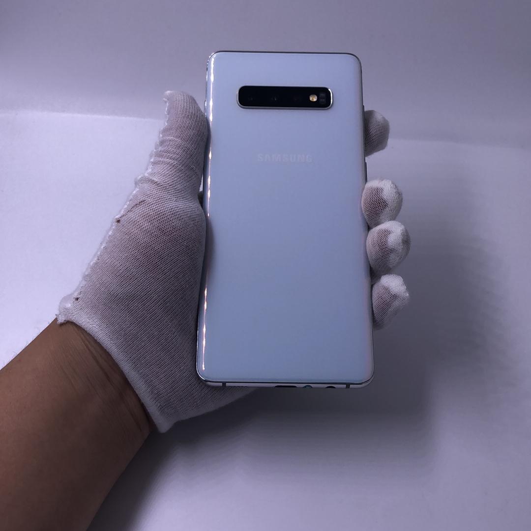 三星【Galaxy S10+】4G全网通 陶瓷白 8G/128G 国行 8成新