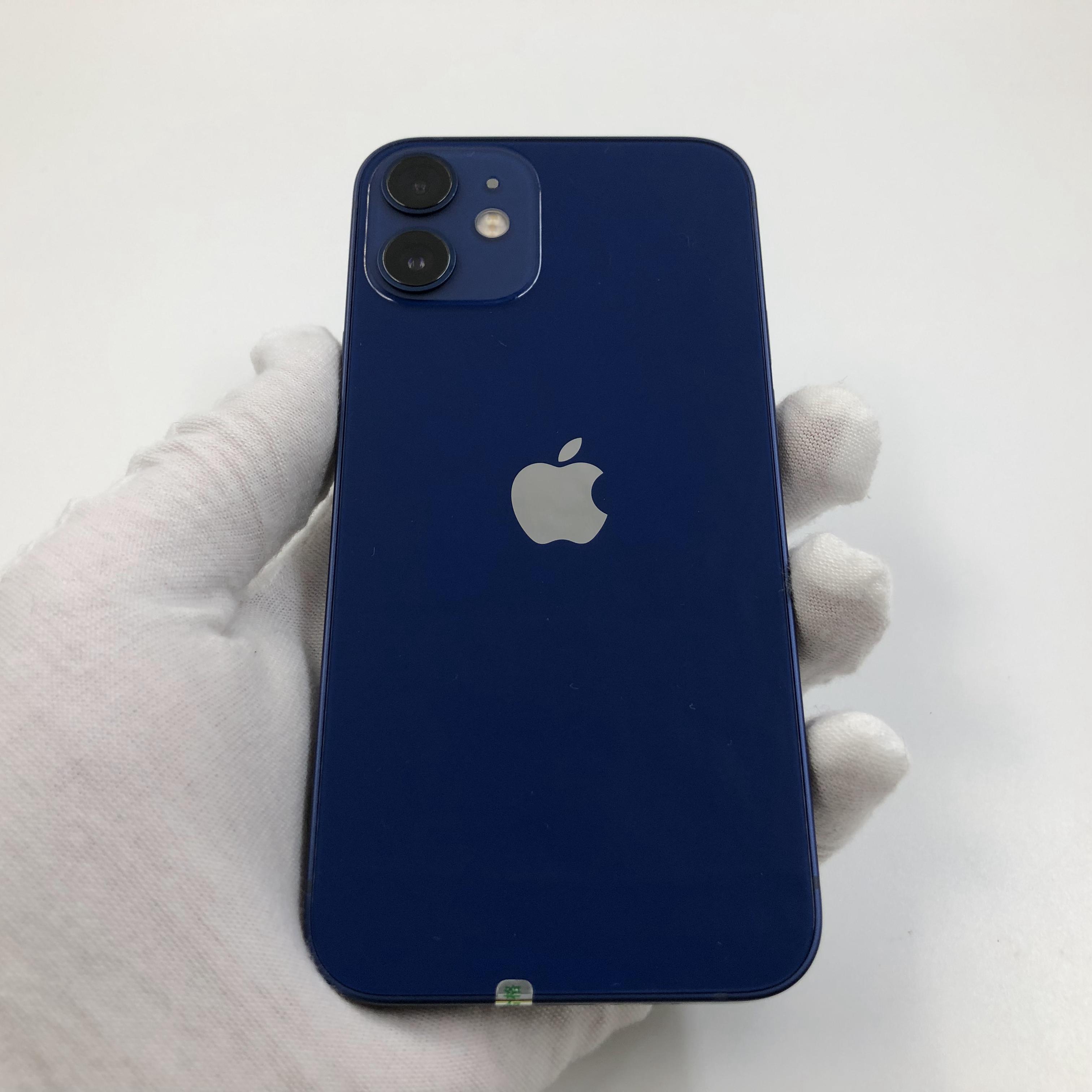 苹果【iPhone 12 mini】5G全网通 蓝色 128G 国行 95新 真机实拍官保2021-11-26
