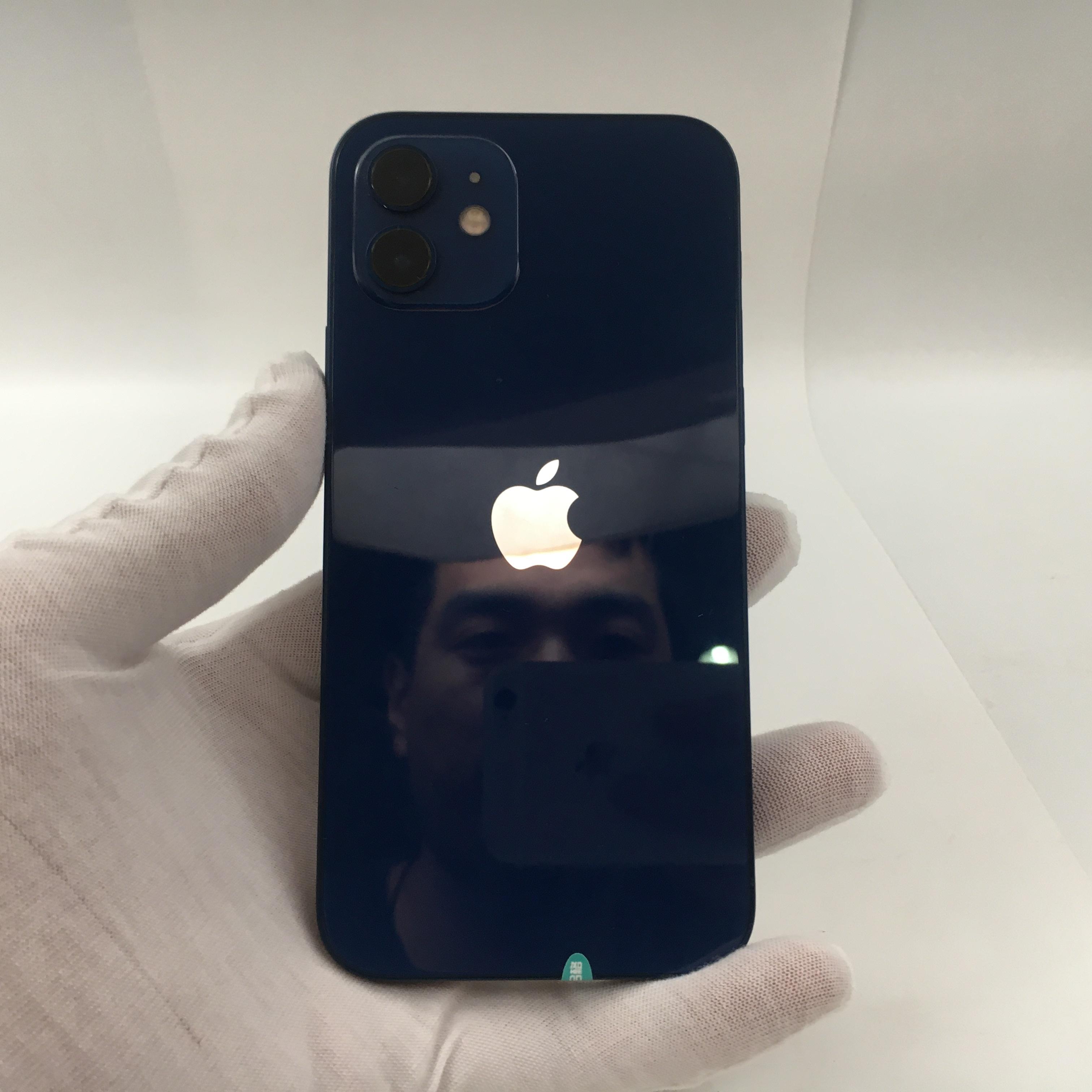 苹果【iPhone 12】5G全网通 蓝色 256G 国行 7成新