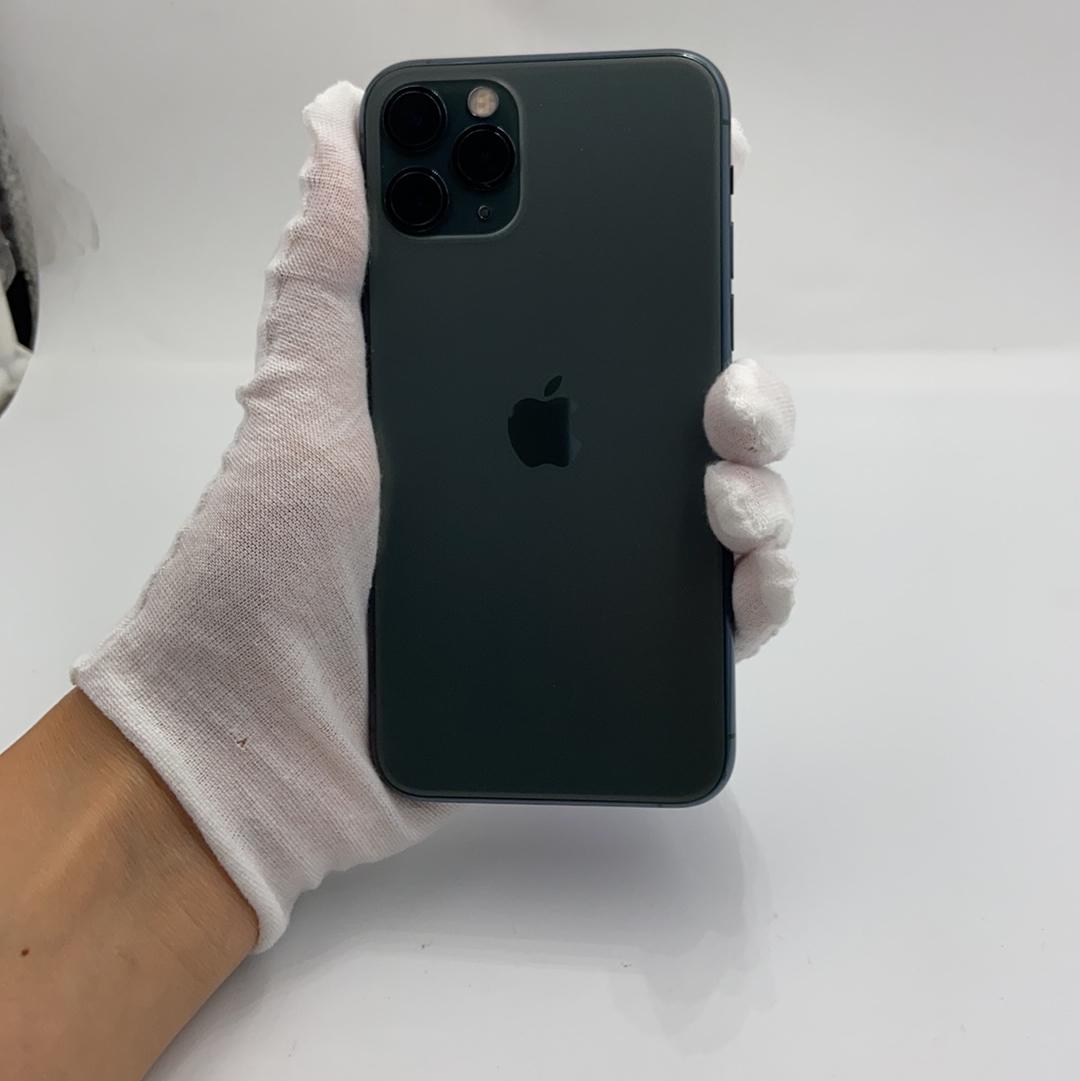 苹果【iPhone 11 Pro】4G全网通 暗夜绿色 64G 国行 95新