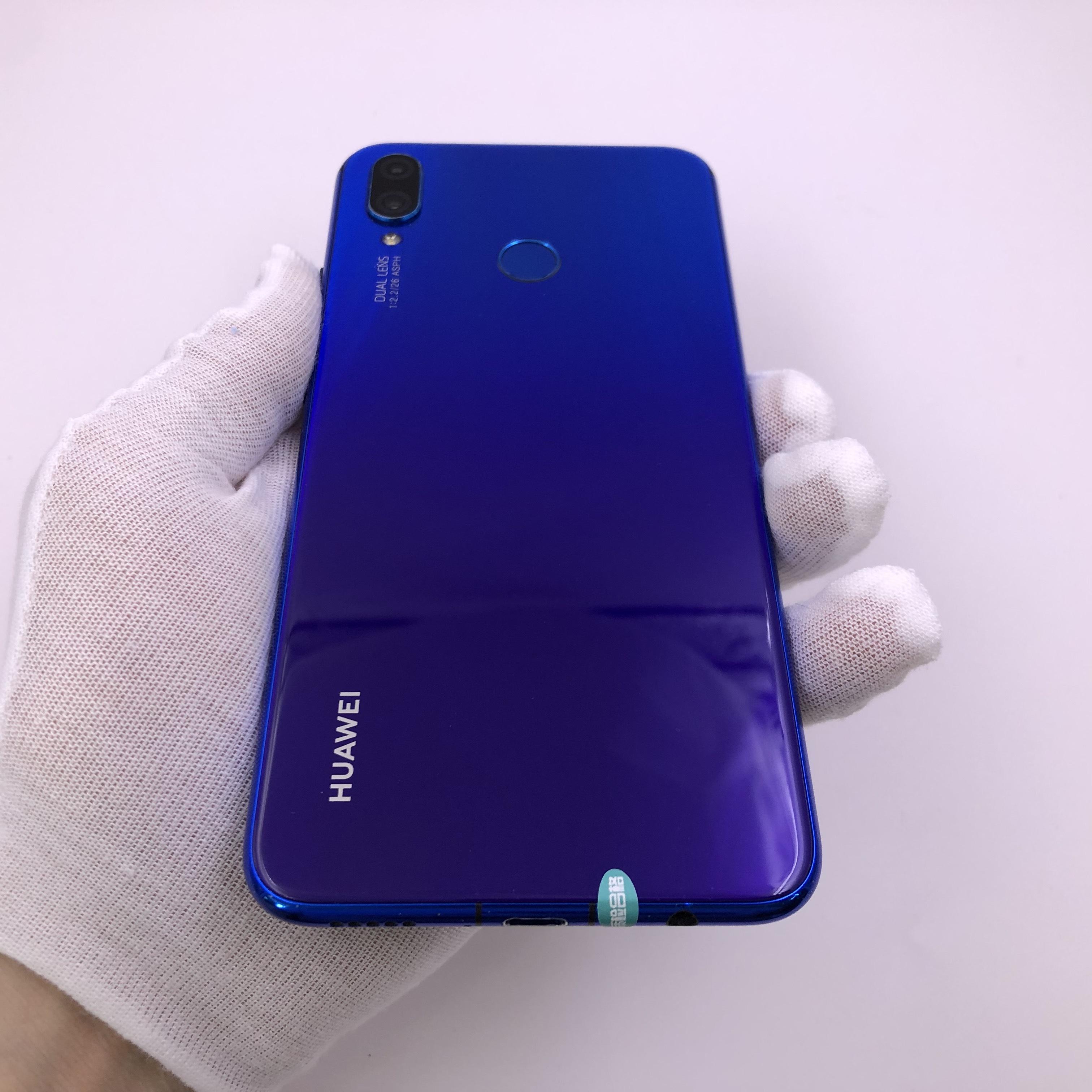 华为【nova3i】4G全网通 蓝色 4G/128G 国行 8成新