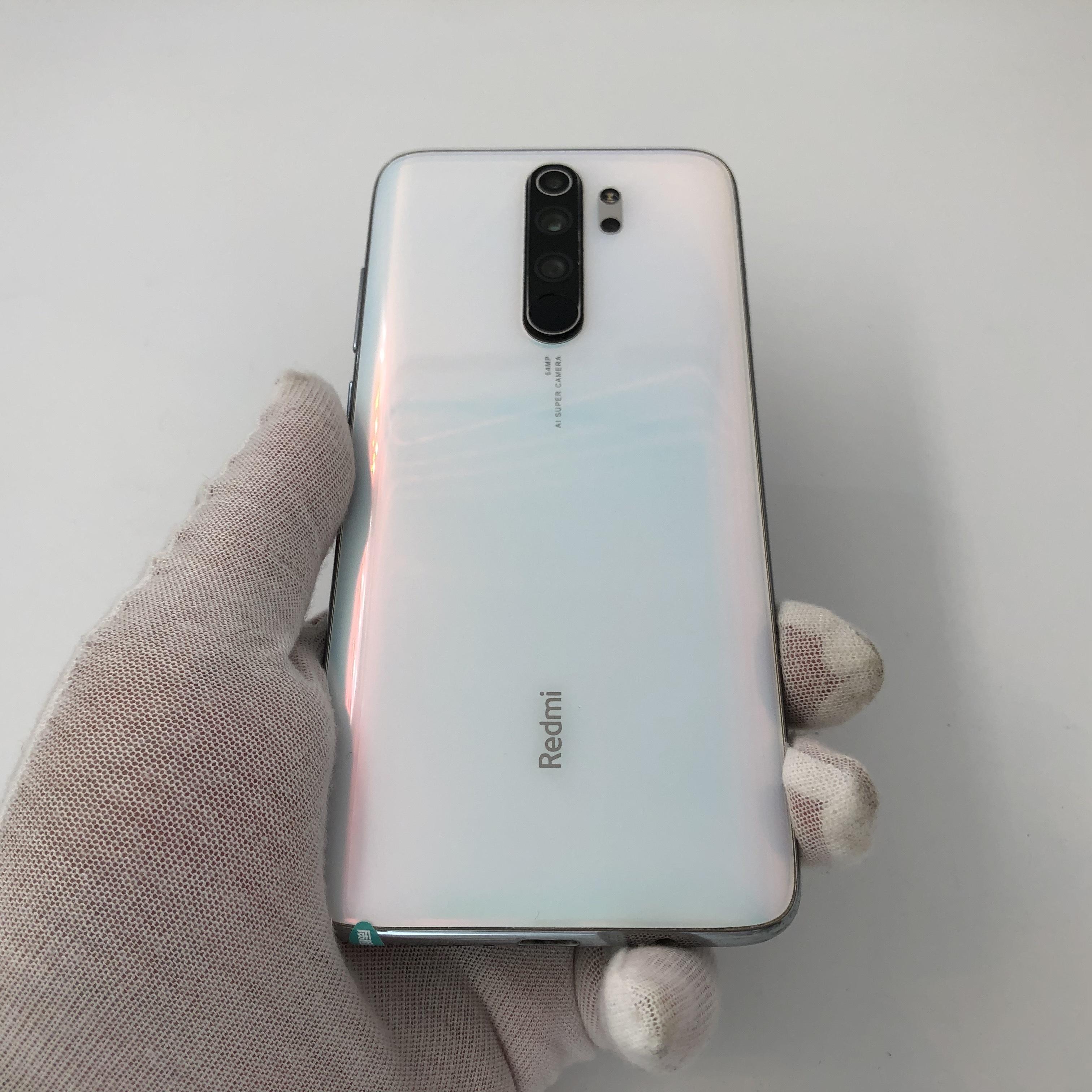 小米【Redmi Note 8 Pro】4G全网通 贝母白 6G/64G 国行 8成新
