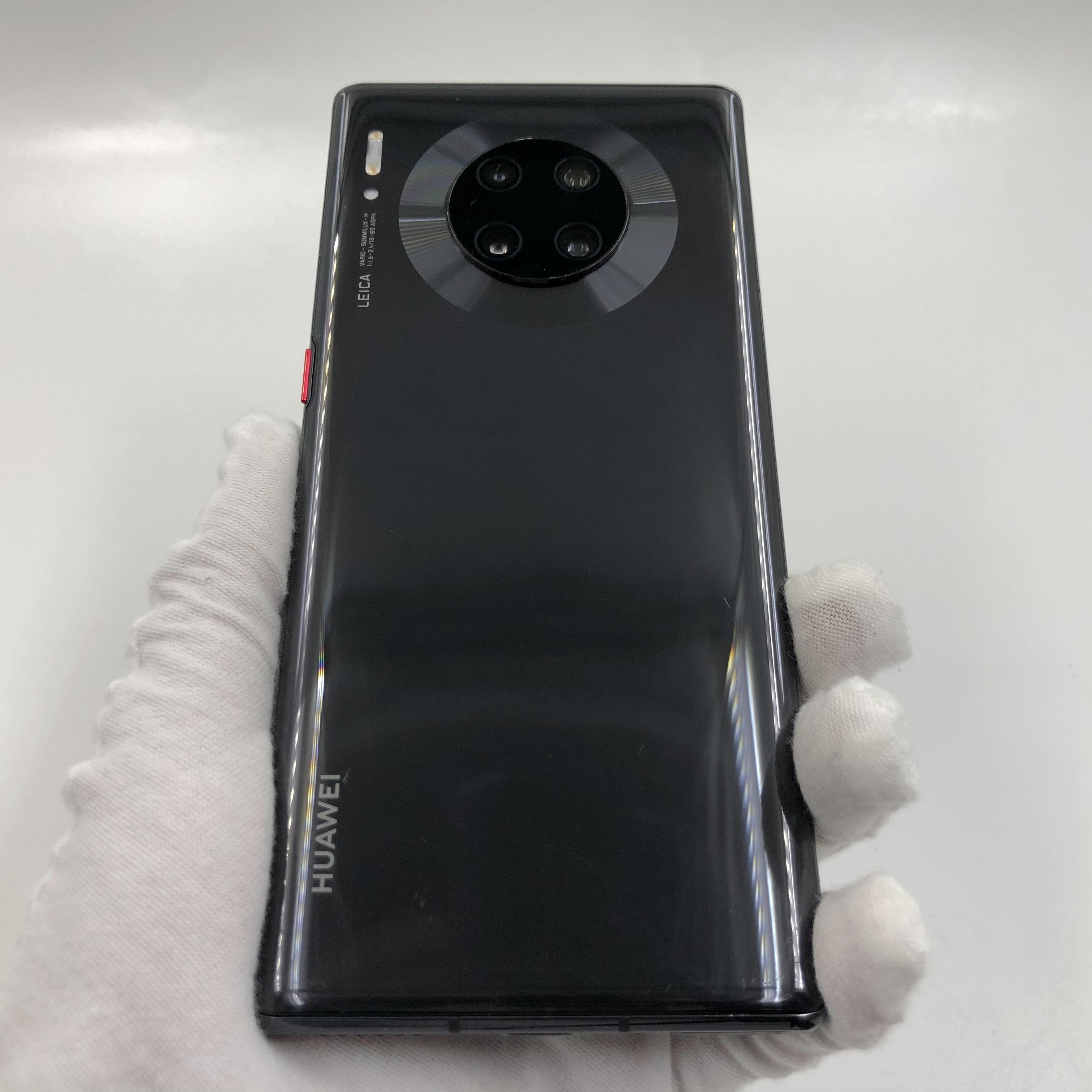 华为【Mate 30 Pro 5G】5G全网通 亮黑色 8G/256G 国行 8成新 真机实拍