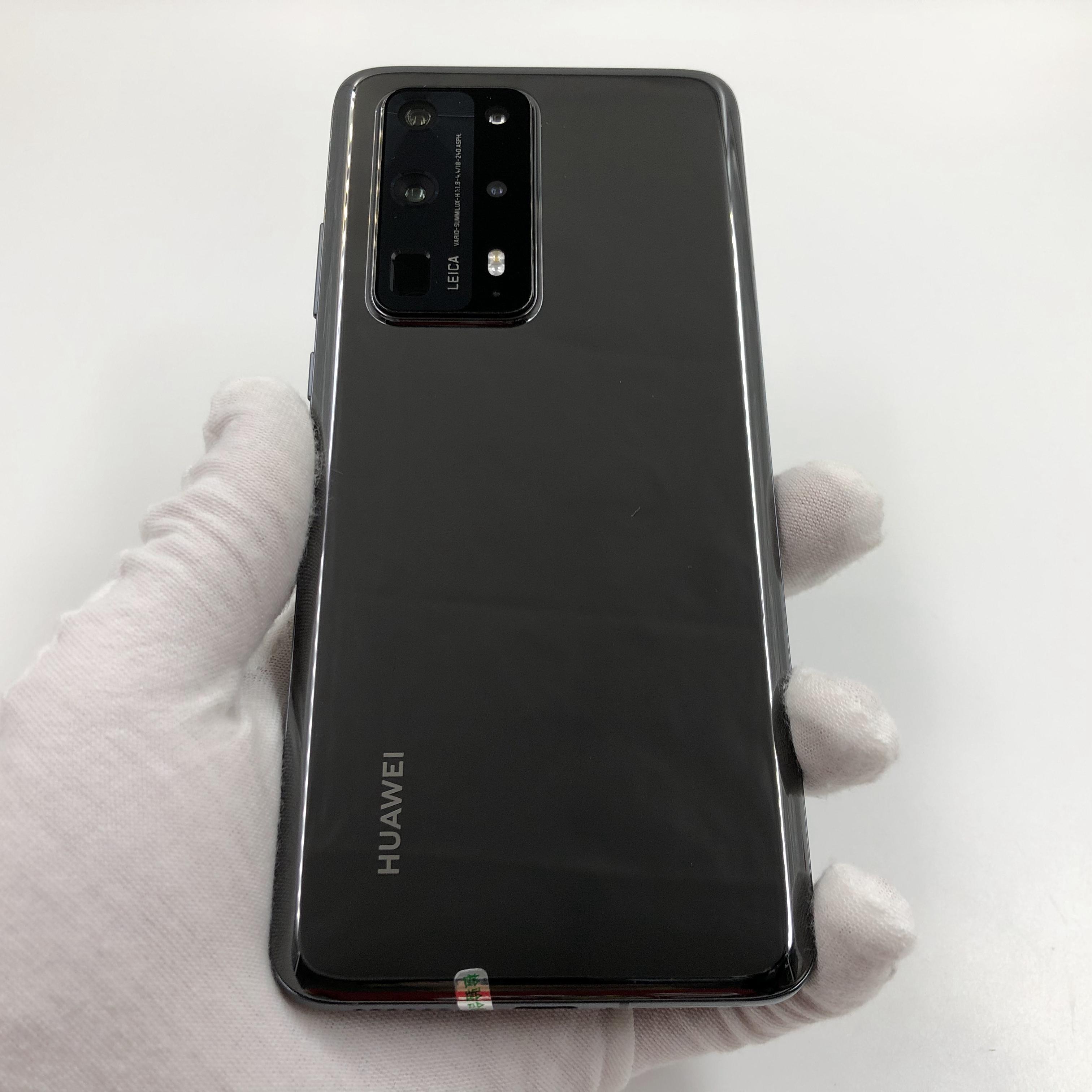 华为【P40 Pro+ 5G】5G全网通 陶瓷黑 8G/256G 国行 8成新 真机实拍官保2021-09-17