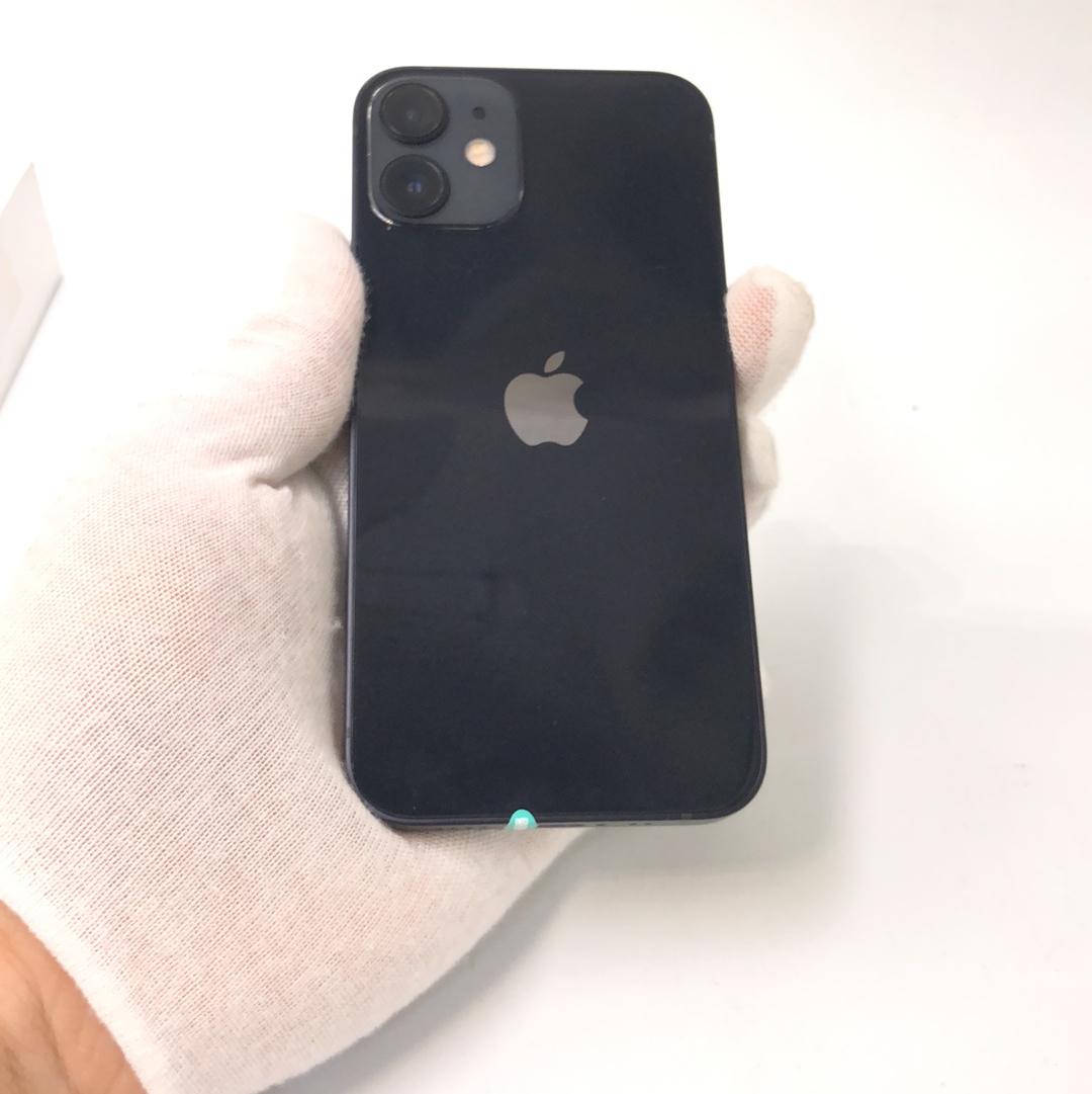 苹果【iPhone 12 mini】5G全网通 黑色 64G 国行 99新