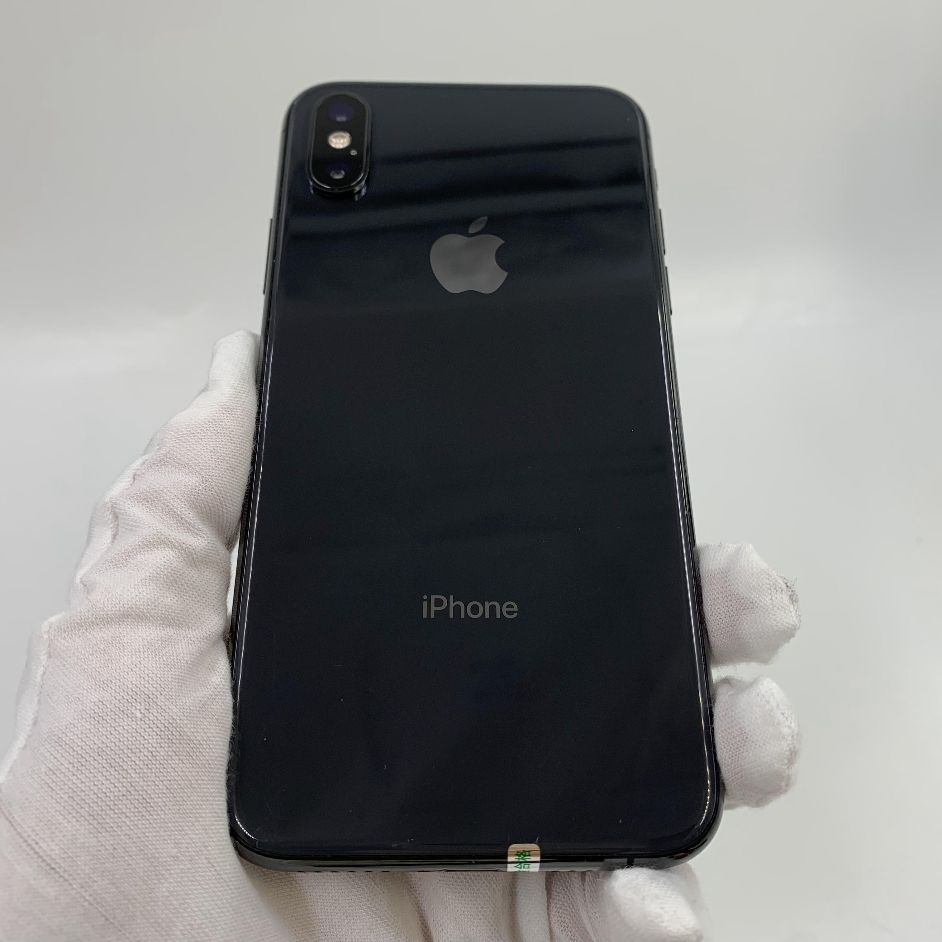 苹果【iPhone Xs】4G全网通 深空灰 64G 国行 8成新 真机实拍