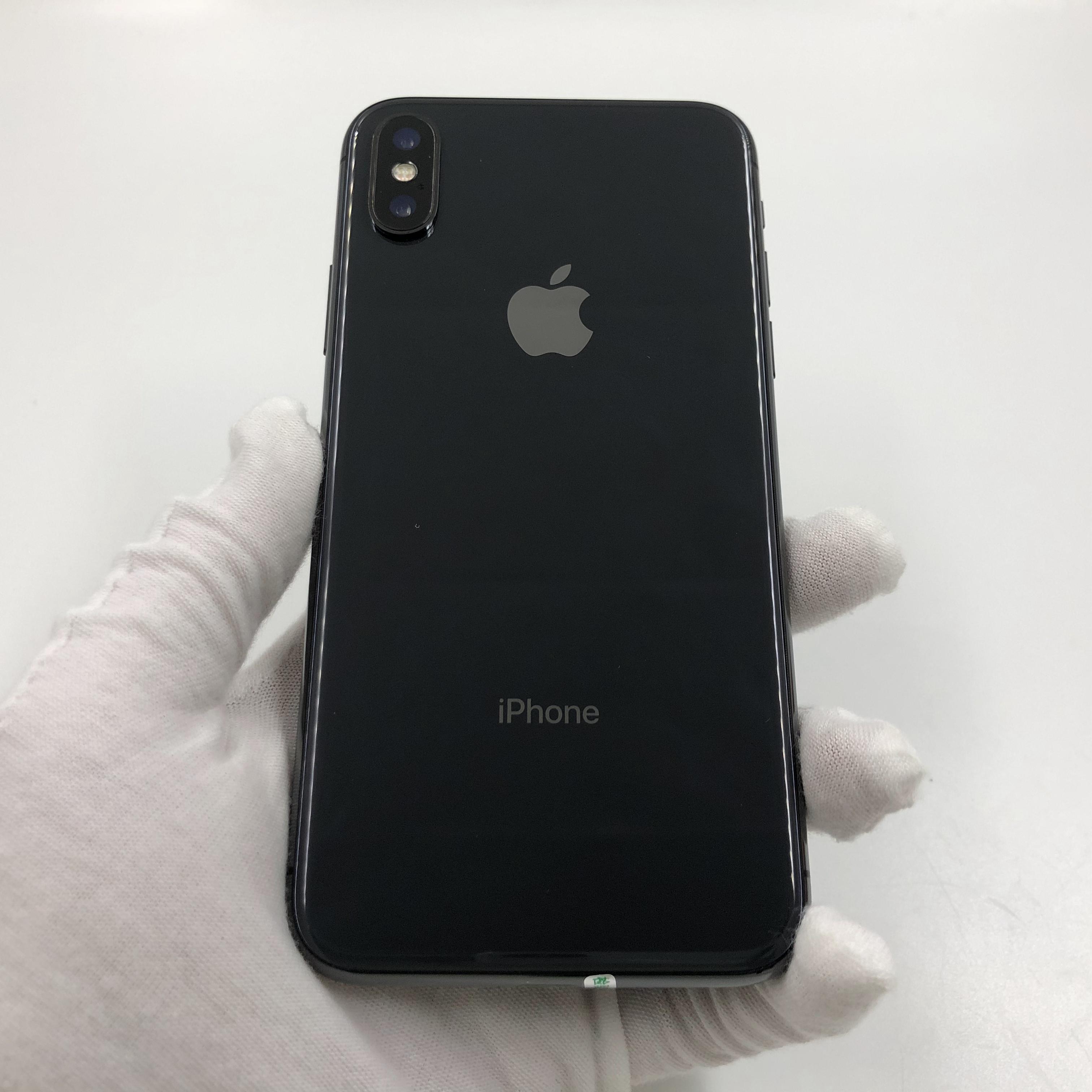 苹果【iPhone X】4G全网通 深空灰 64G 国行 9成新 真机实拍