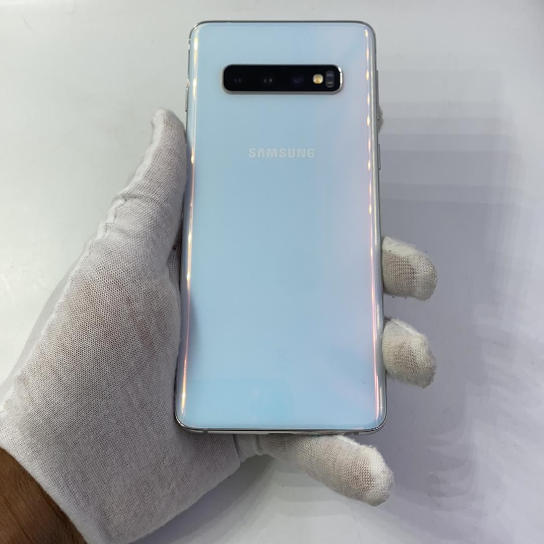 三星【Galaxy S10】4G全网通 白色 8G/128G 港澳台 95新
