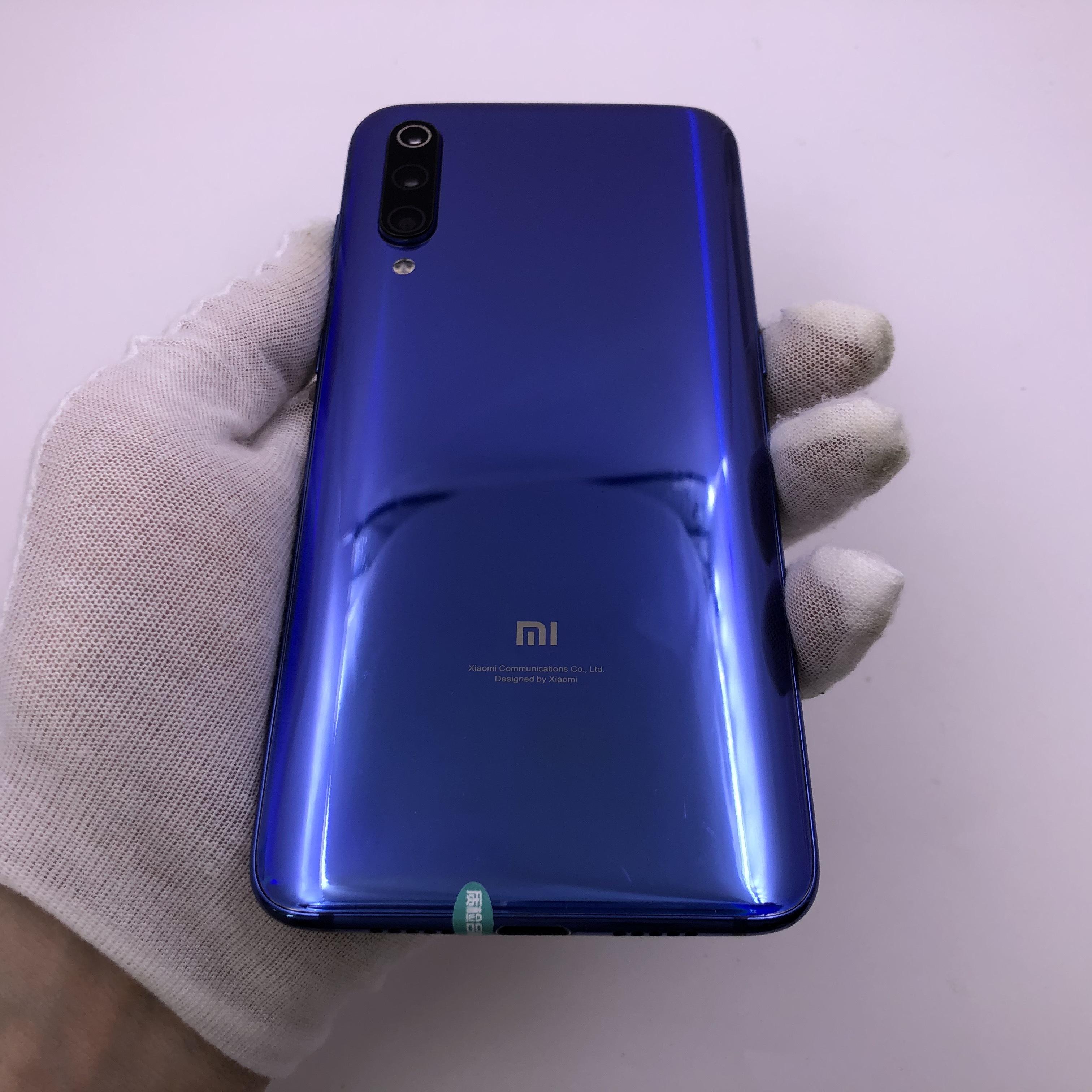 小米【小米9】4G全网通 蓝色 8G/128G 国行 8成新