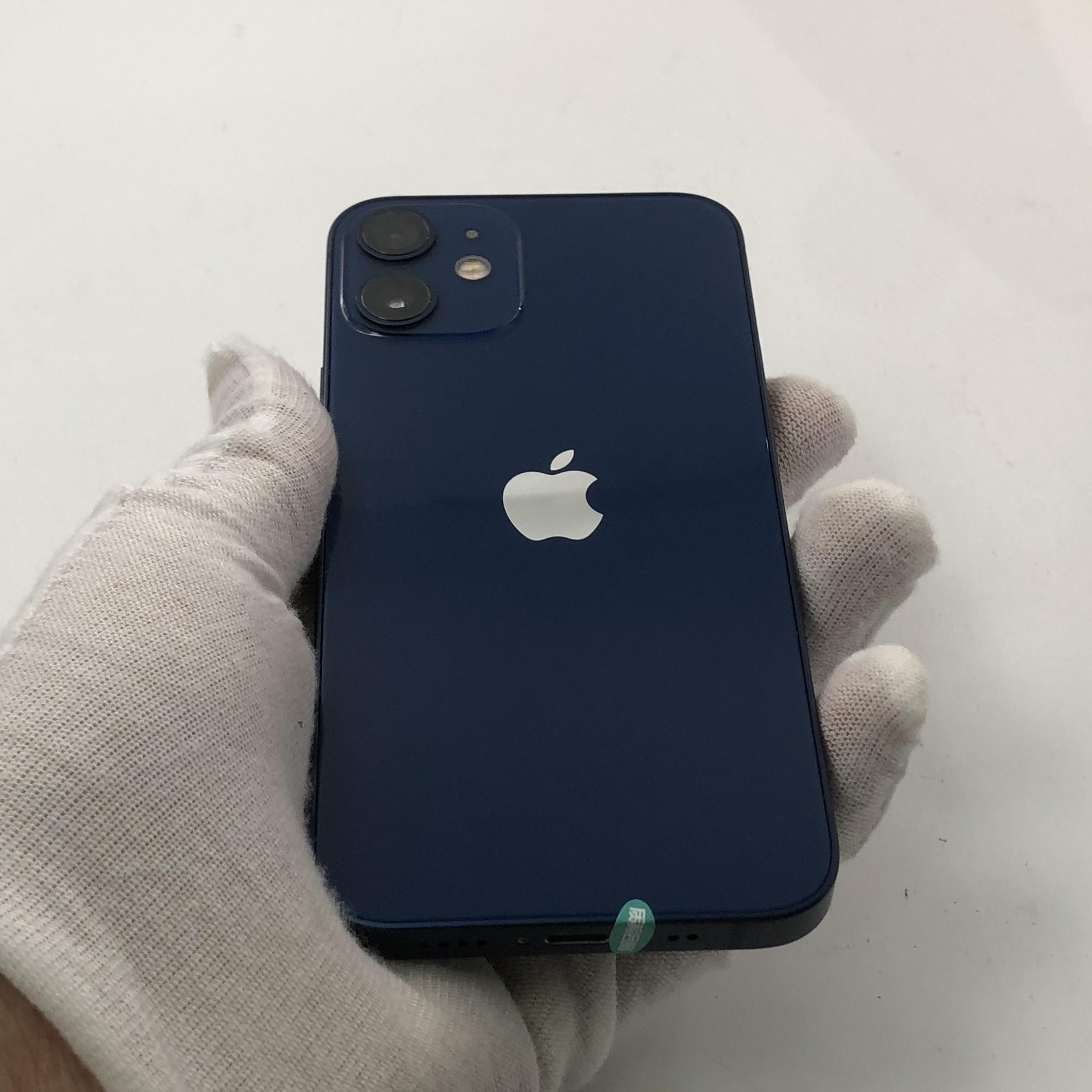苹果【iPhone 12 mini】5G全网通 蓝色 128G 国行 95新
