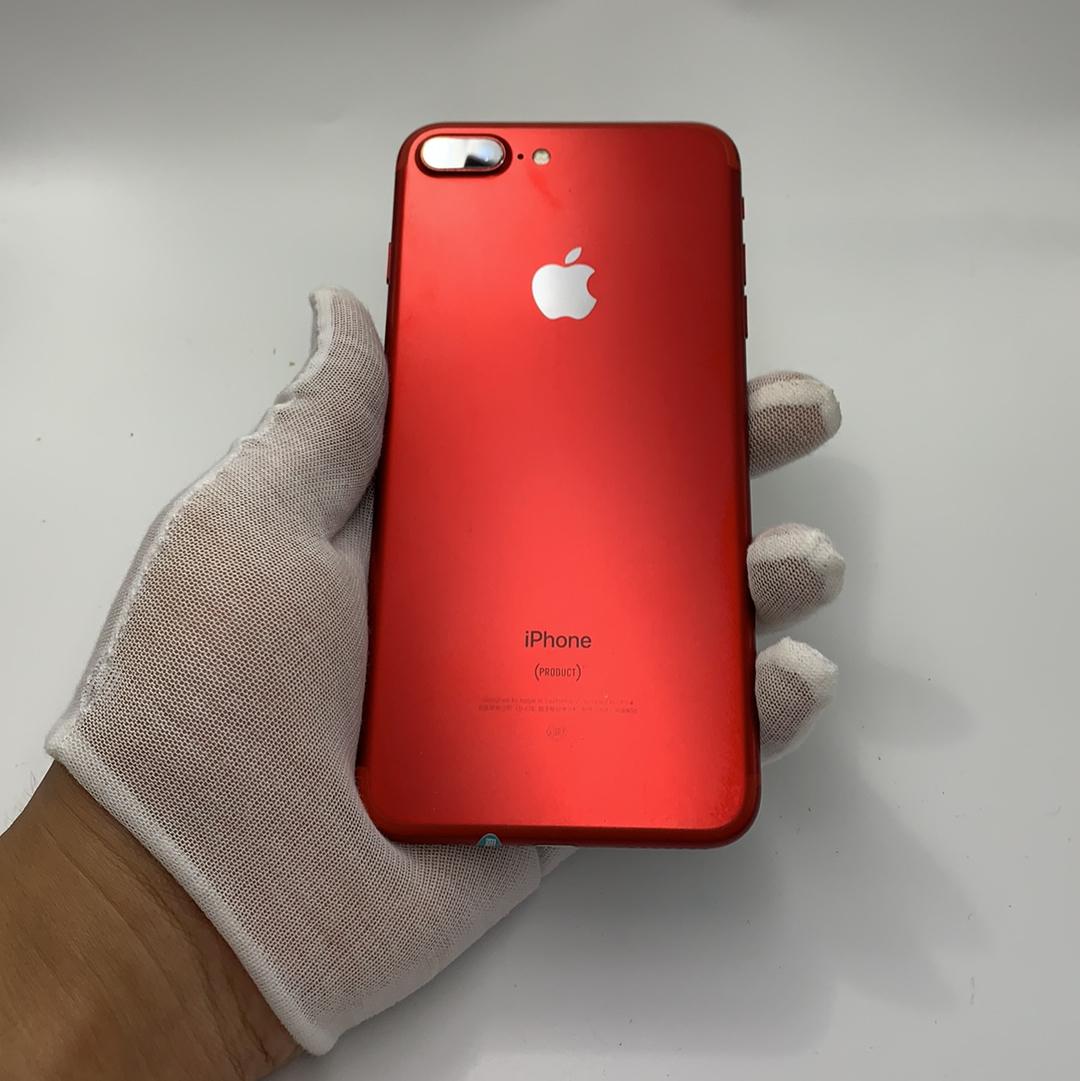 苹果【iPhone 7 Plus】4G全网通 红色 128G 国行 9成新