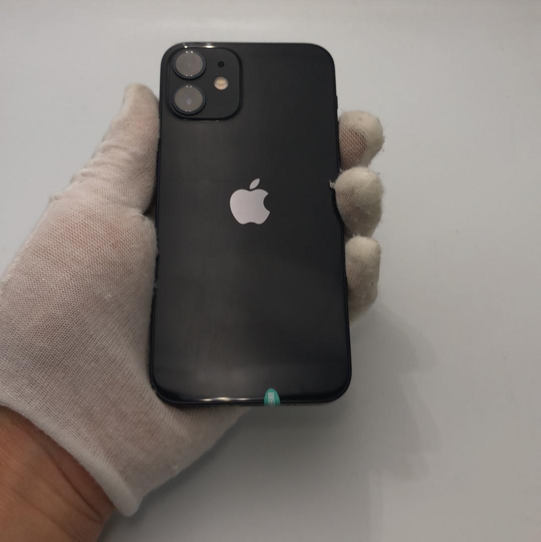 苹果【iPhone 12 mini】5G全网通 黑色 256G 国行 95新