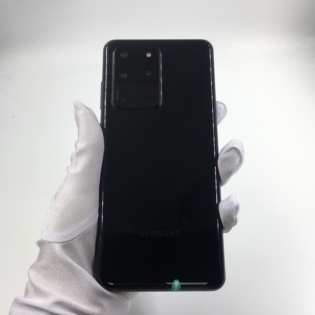 三星【Galaxy S20 Ultra 5G】5G全网通 幻游黑 12G/256G 国行 95新 12G/256G真机实拍