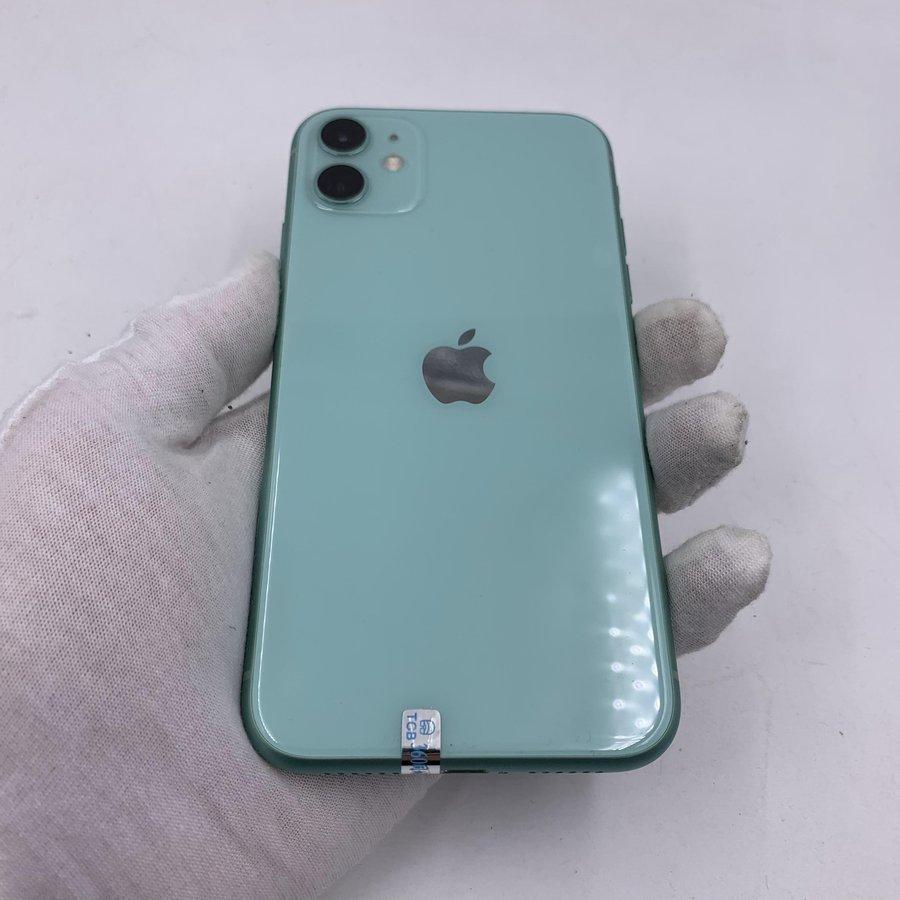 苹果【iPhone 11】4G全网通 绿色 64G 国行 9成新